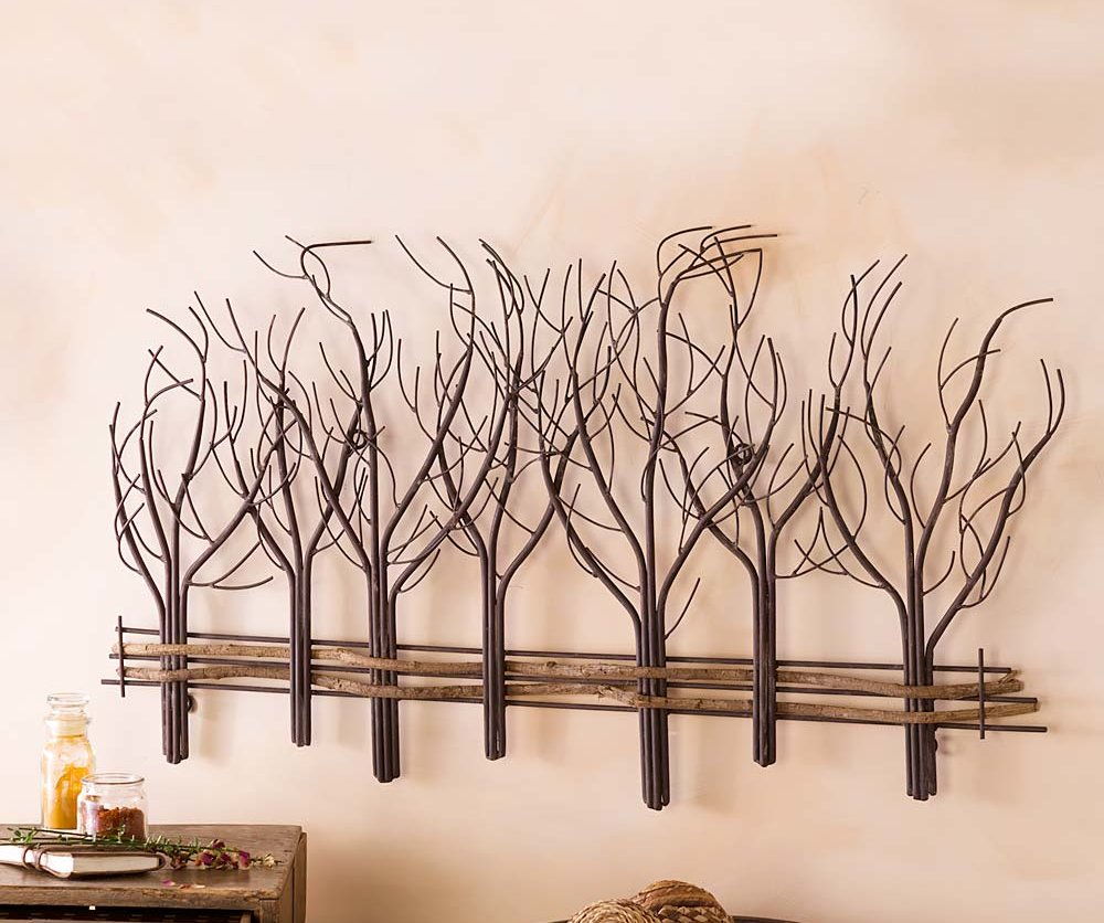 Metal And Natural Vine Tree Wall Décor Intended For Tree Wall Decor (View 10 of 30)