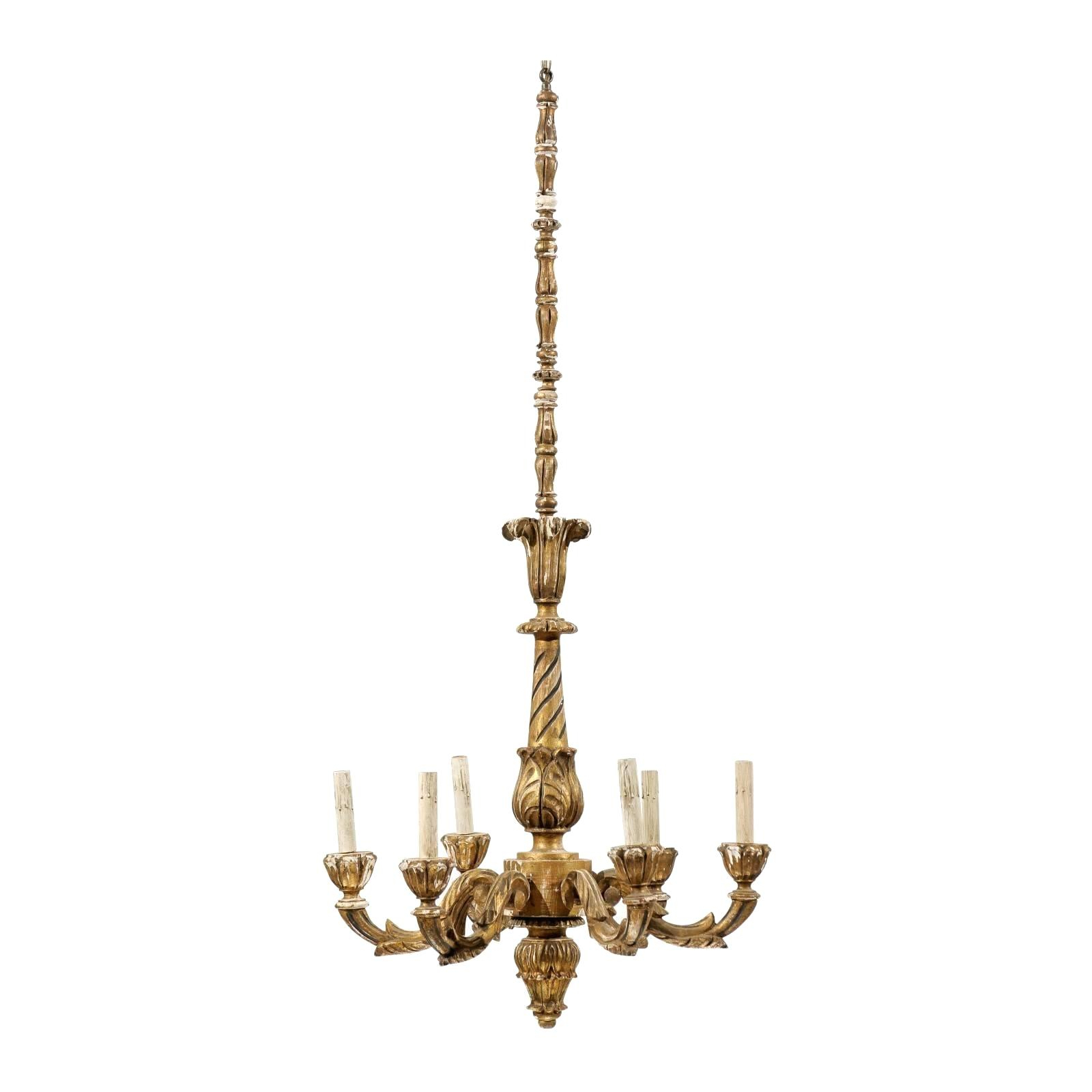 Metal And Wood Chandelier – Michaeljhouser (View 16 of 30)