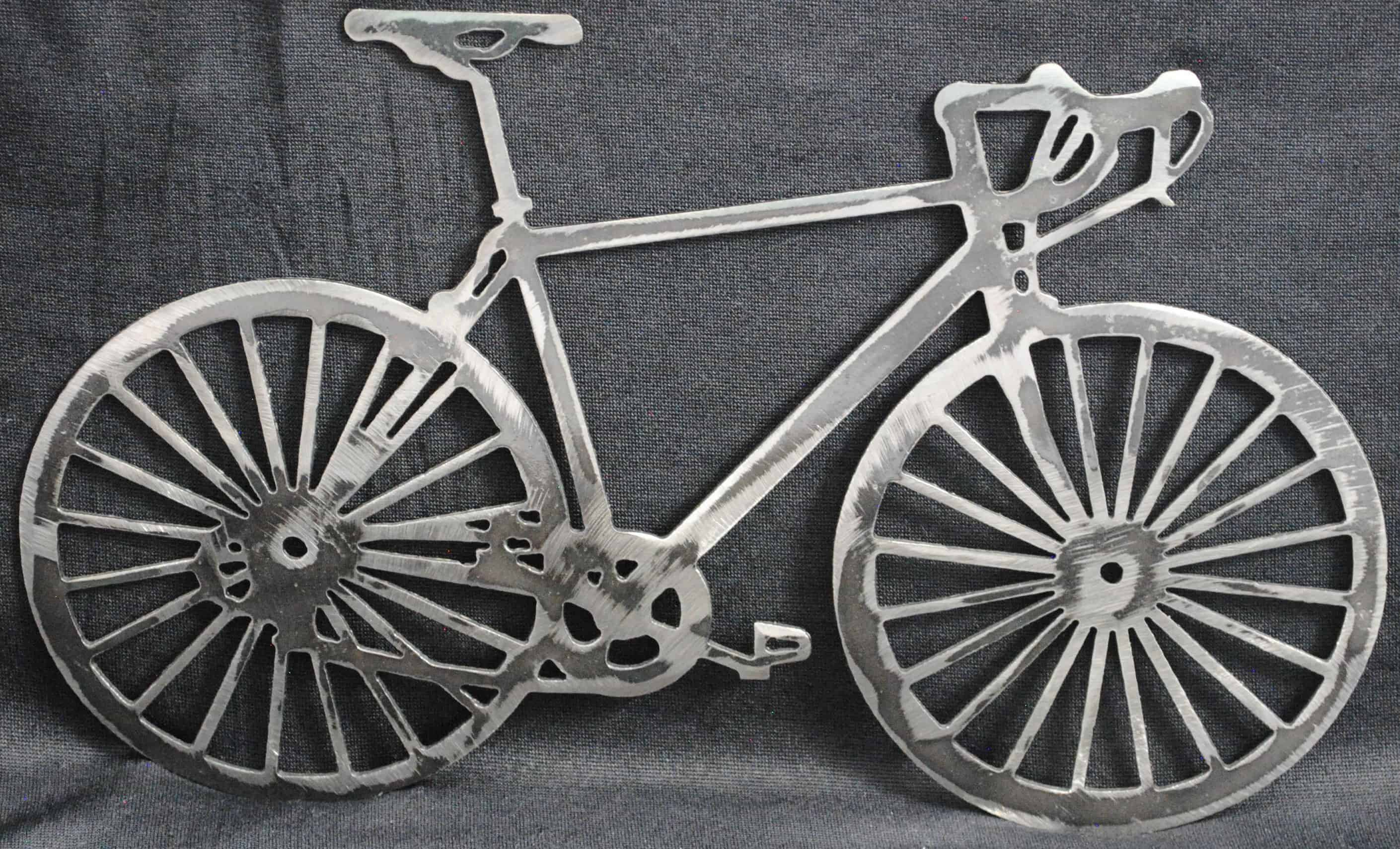 Metal Bicycle Wall Art Within Bike Wall Decor (View 21 of 30)