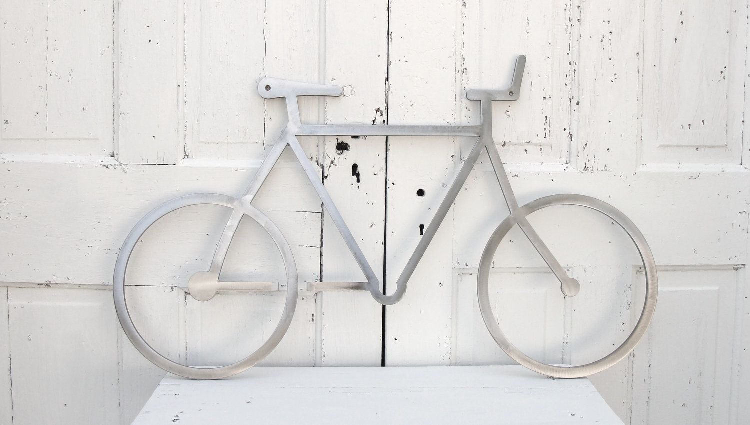 Metal Bicycle Wall Decor, Bike Wall Art, Bicycle Wall Art With Large Modern Industrial Wall Decor (Photo 13 of 30)