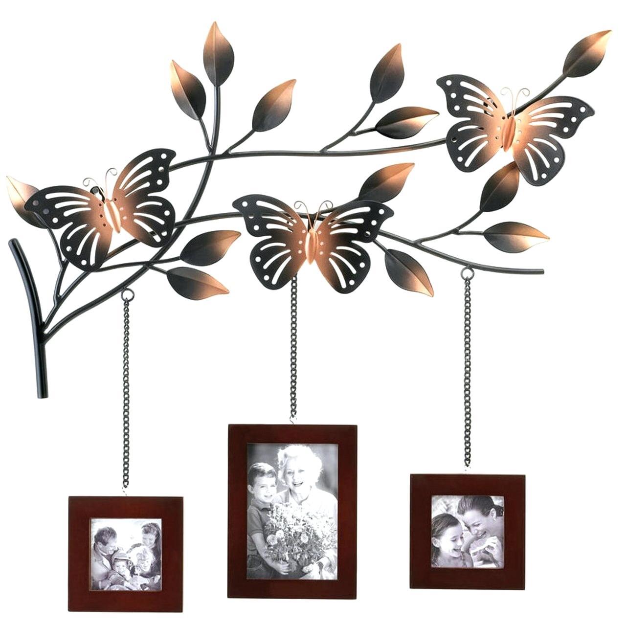 Metal Butterflies Wall Decor – Ilsefogarty (View 26 of 30)