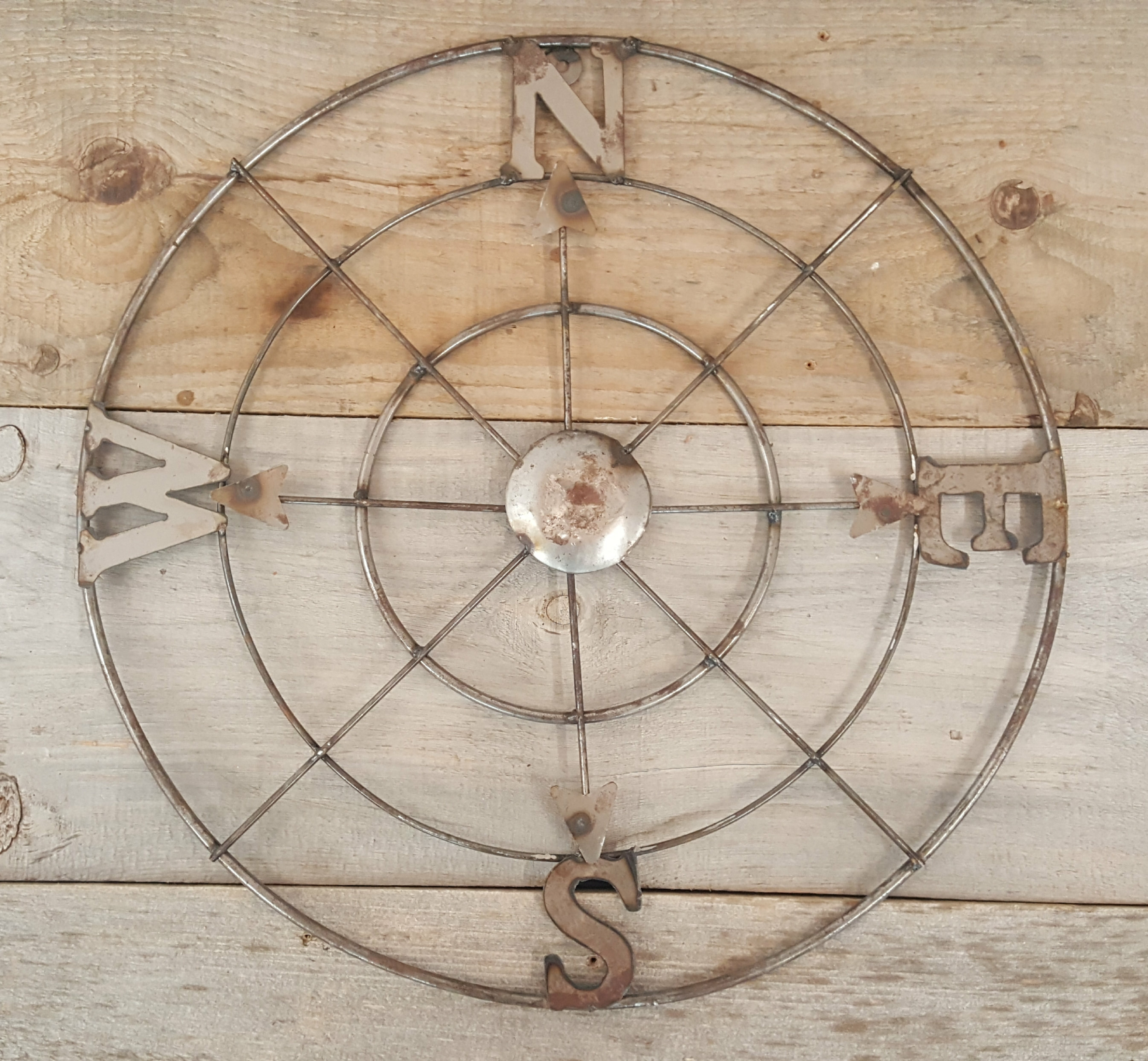 Metal Compass Wall Decor inside Round Compass Wall Decor (Image 18 of 30)