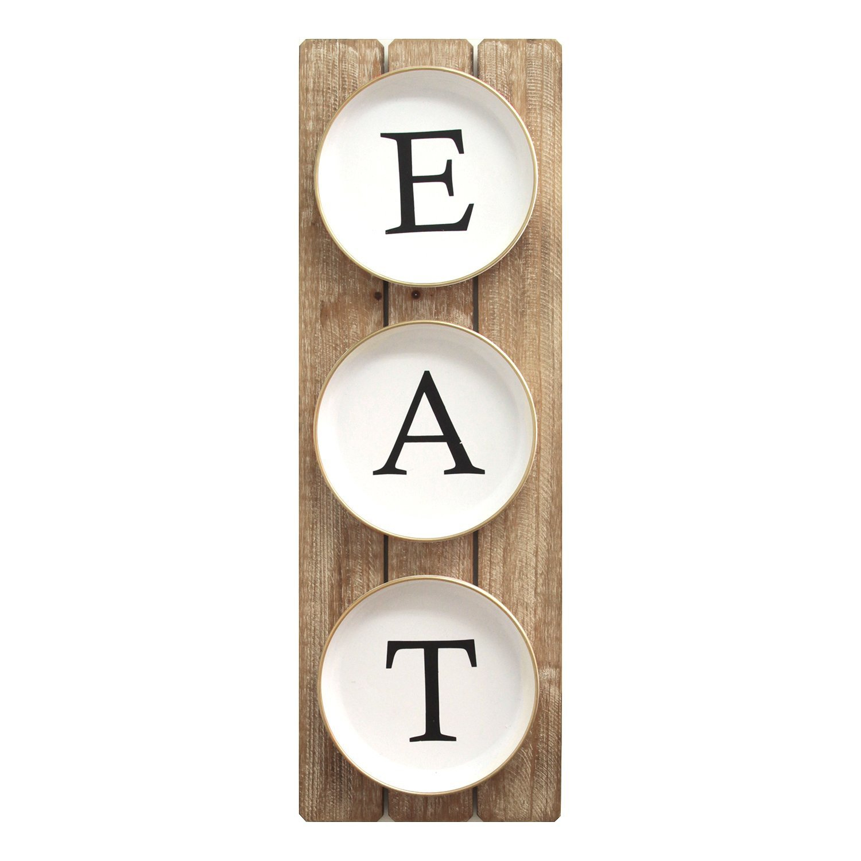 Metal Eat Sign | Wayfair (View 4 of 30)