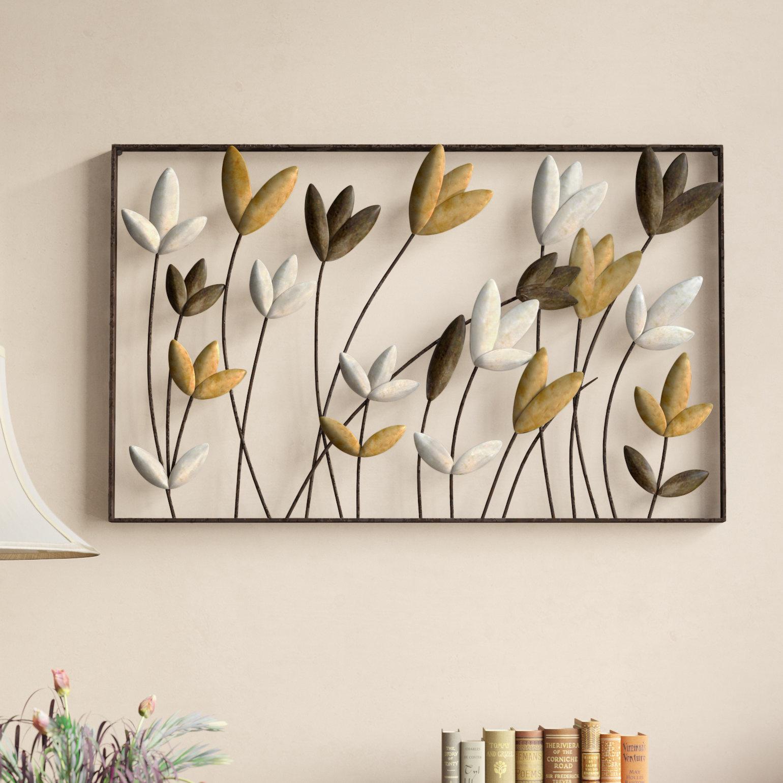 Metal Flower Wall Decor – Fashionsneakers (View 16 of 30)