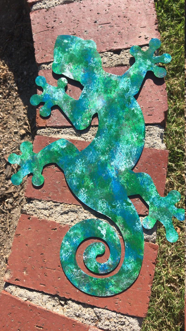Metal Lizard, Metal Gecko, Laser Cut Wall Decor, Gecko Wall Decor, Lizard Wall Decor, Lizard Wall Art, Gecko Outdoor Art, Laser Cut Art,art For Gecko Wall Decor (View 9 of 30)