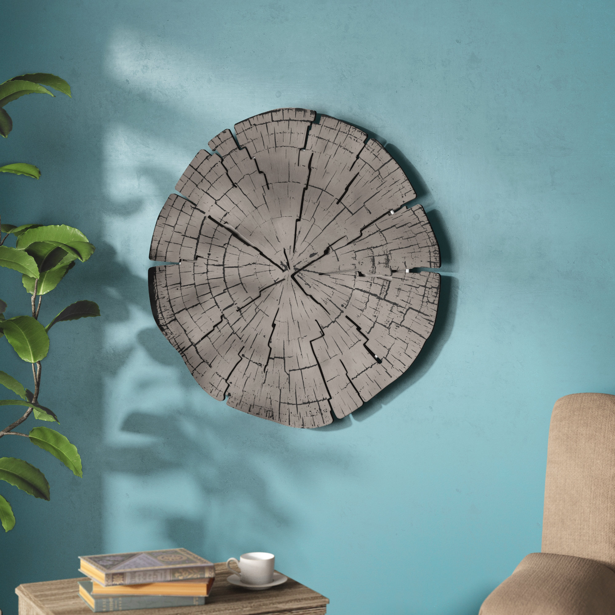 Metal Rings Wall Art | Wayfair In Rings Wall Decor (View 13 of 30)