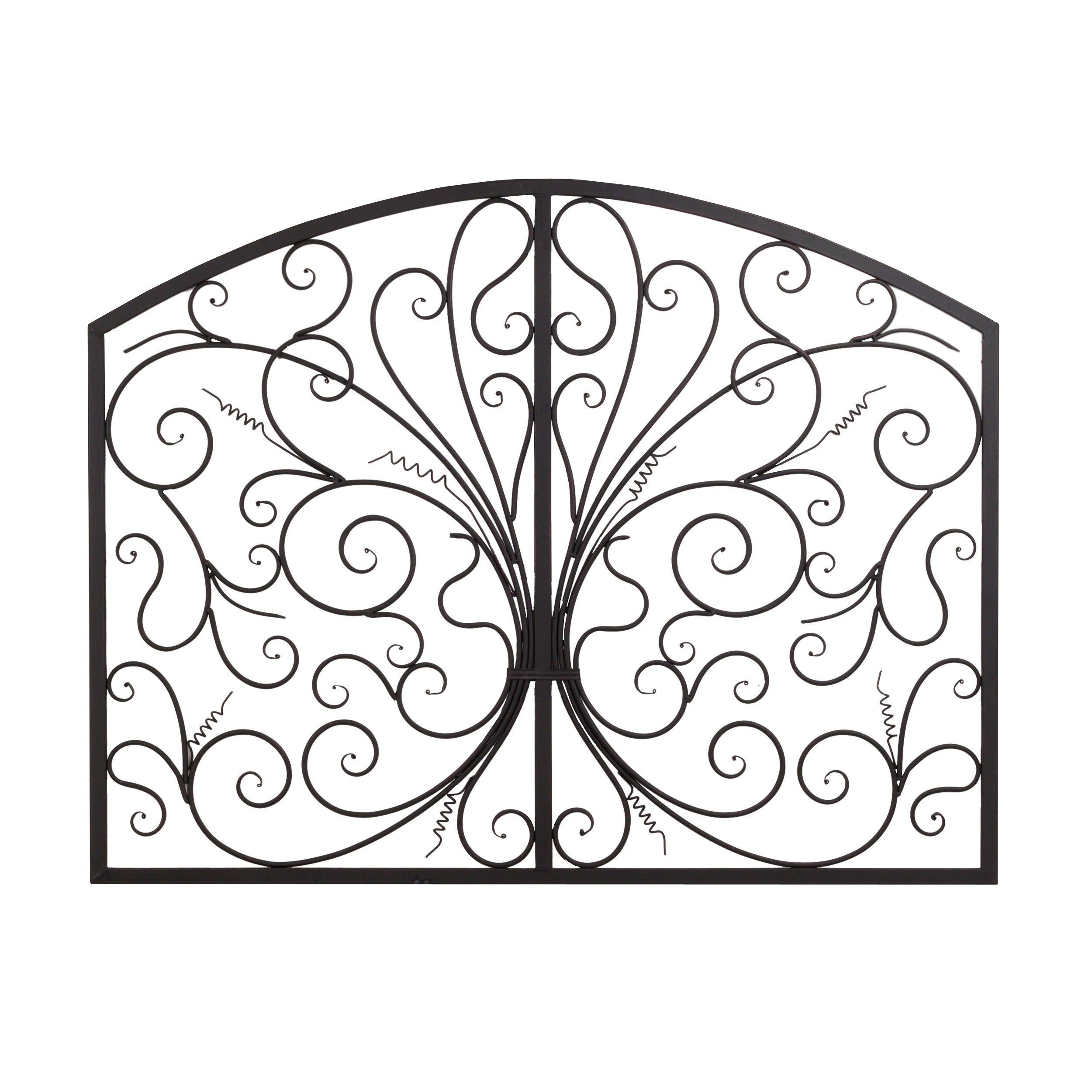 Metal Scroll Complex Panel Wall Decor with Scroll Panel Wall Decor (Image 18 of 30)