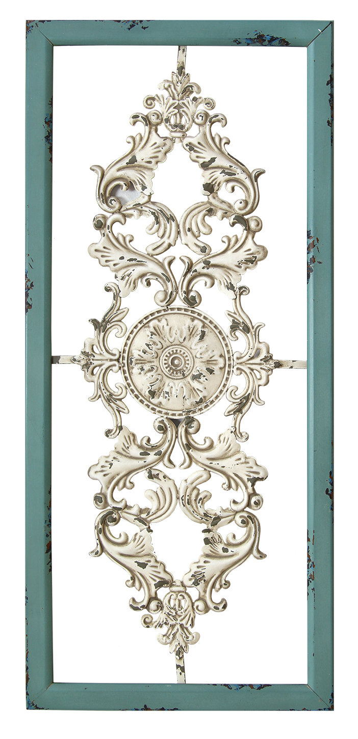 Metal Scroll Wall Art | Wayfair in Belle Circular Scroll Wall Decor (Image 15 of 30)