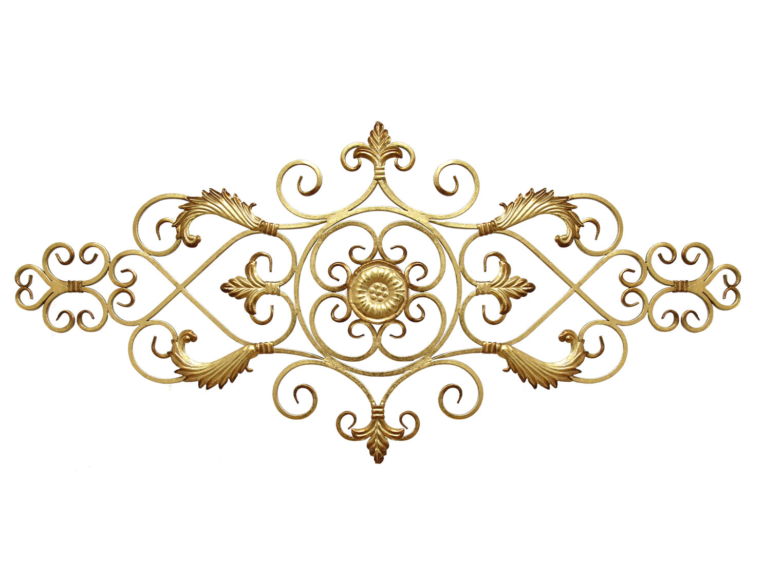 Metal Scroll Wall Art | Wayfair with regard to Belle Circular Scroll Wall Decor (Image 21 of 30)