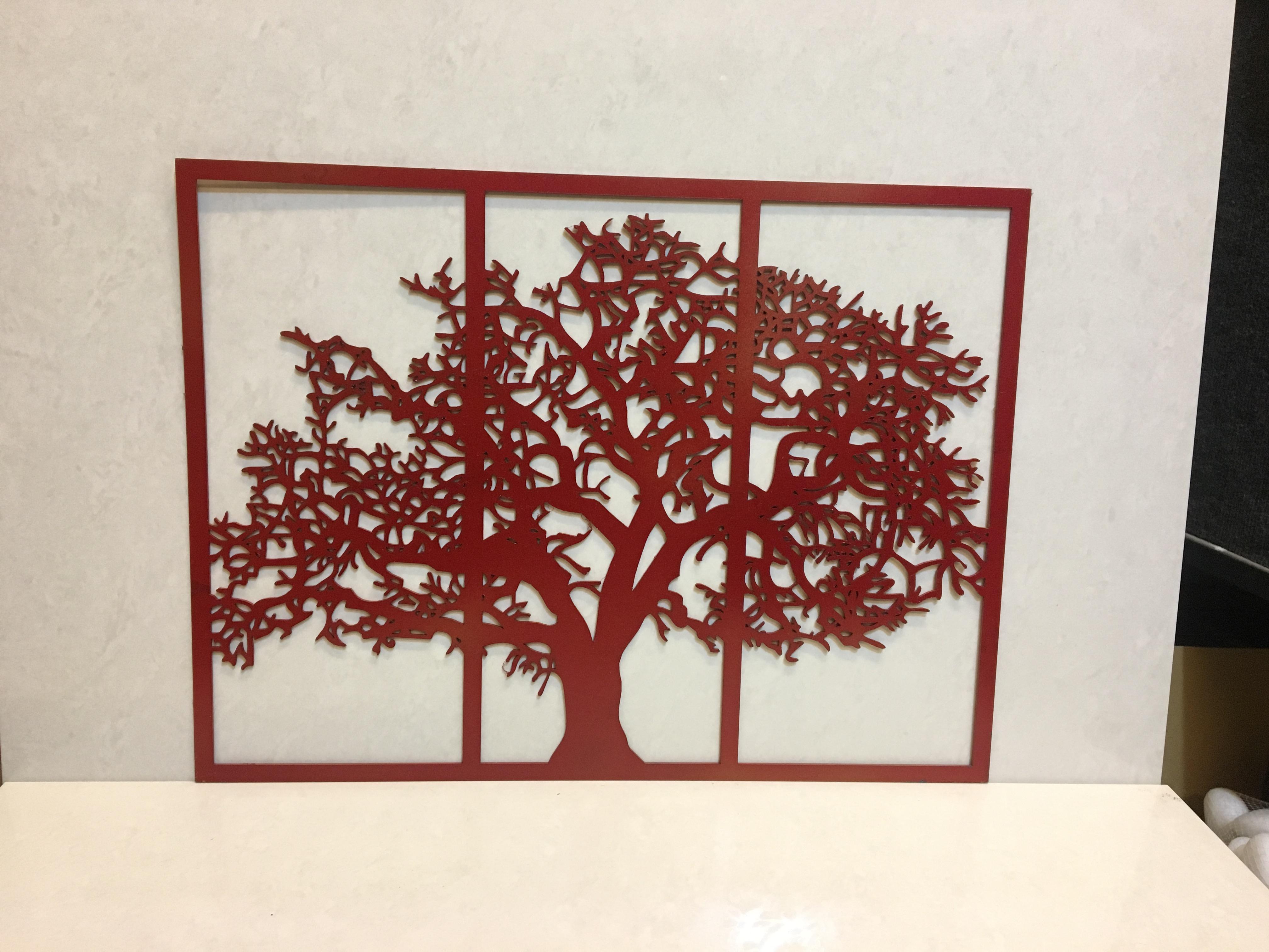 Metal Tree Of Life Wall Decor Red – Houzdecor Intended For Tree Of Life Wall Decor (View 24 of 30)