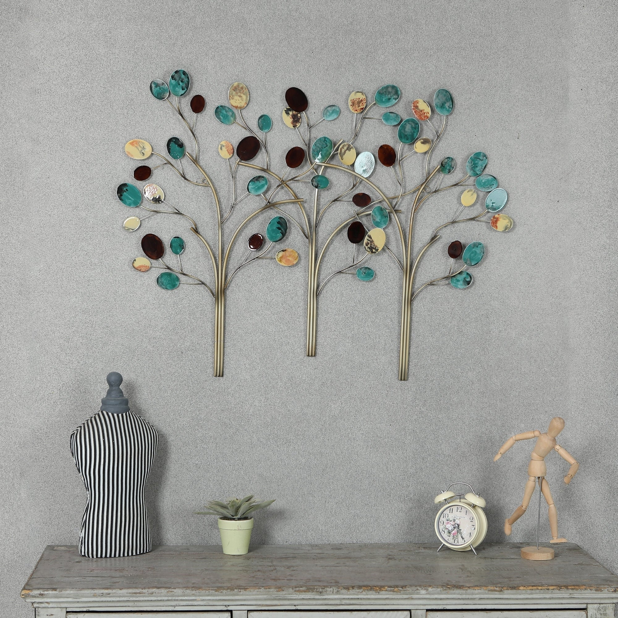 Metal Trees Wall Decor For Tree Wall Decor (View 16 of 30)