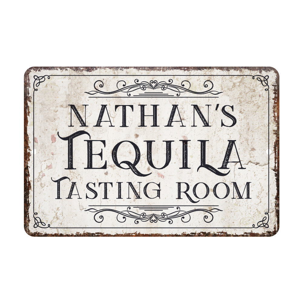 Metal Vintage Signs | Wayfair With Regard To Personalized Distressed Vintage Look Kitchen Metal Sign Wall Decor (View 5 of 30)