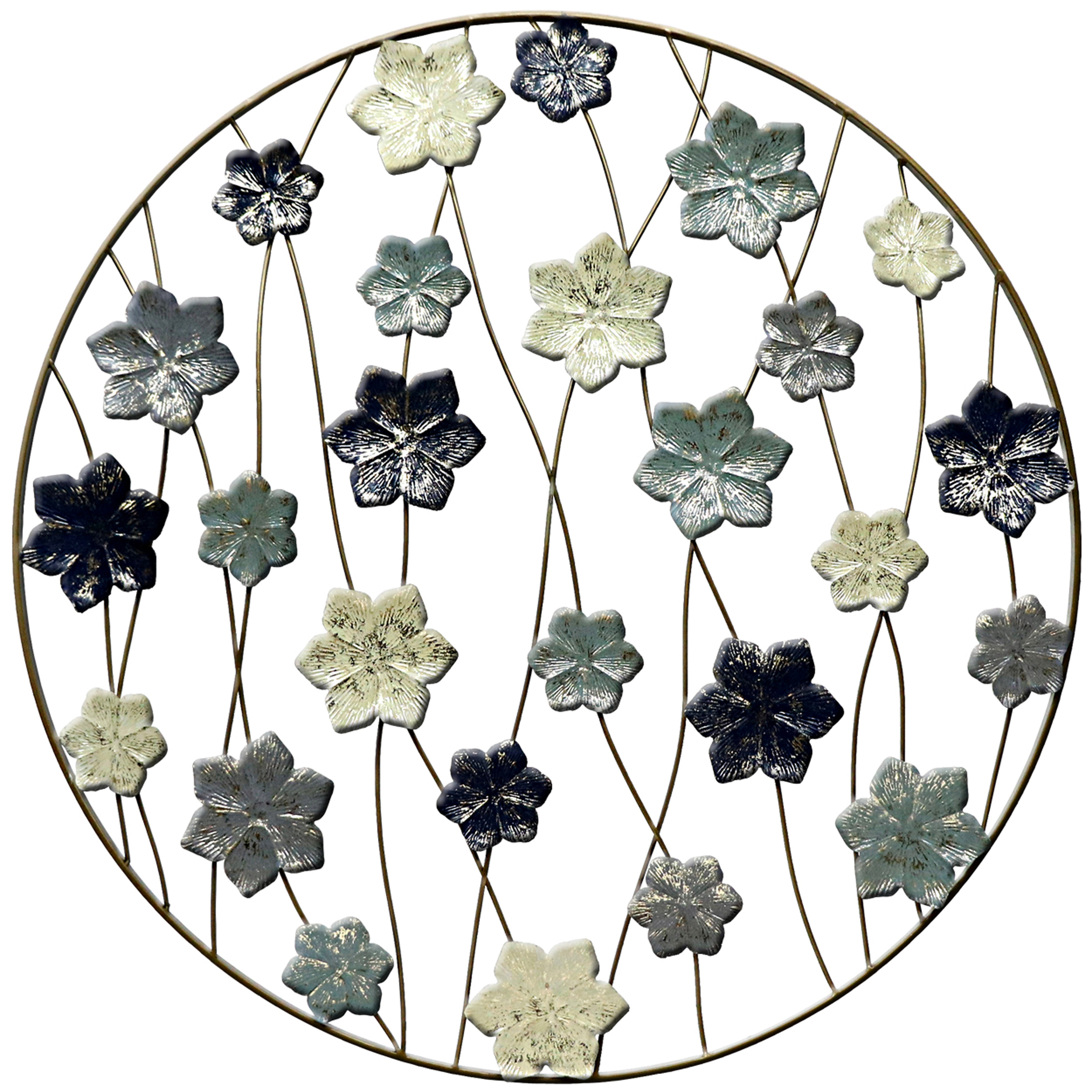 Metal Wall Art Uk | Page 1 pertaining to Flower Urban Design Metal Wall Decor (Image 21 of 30)