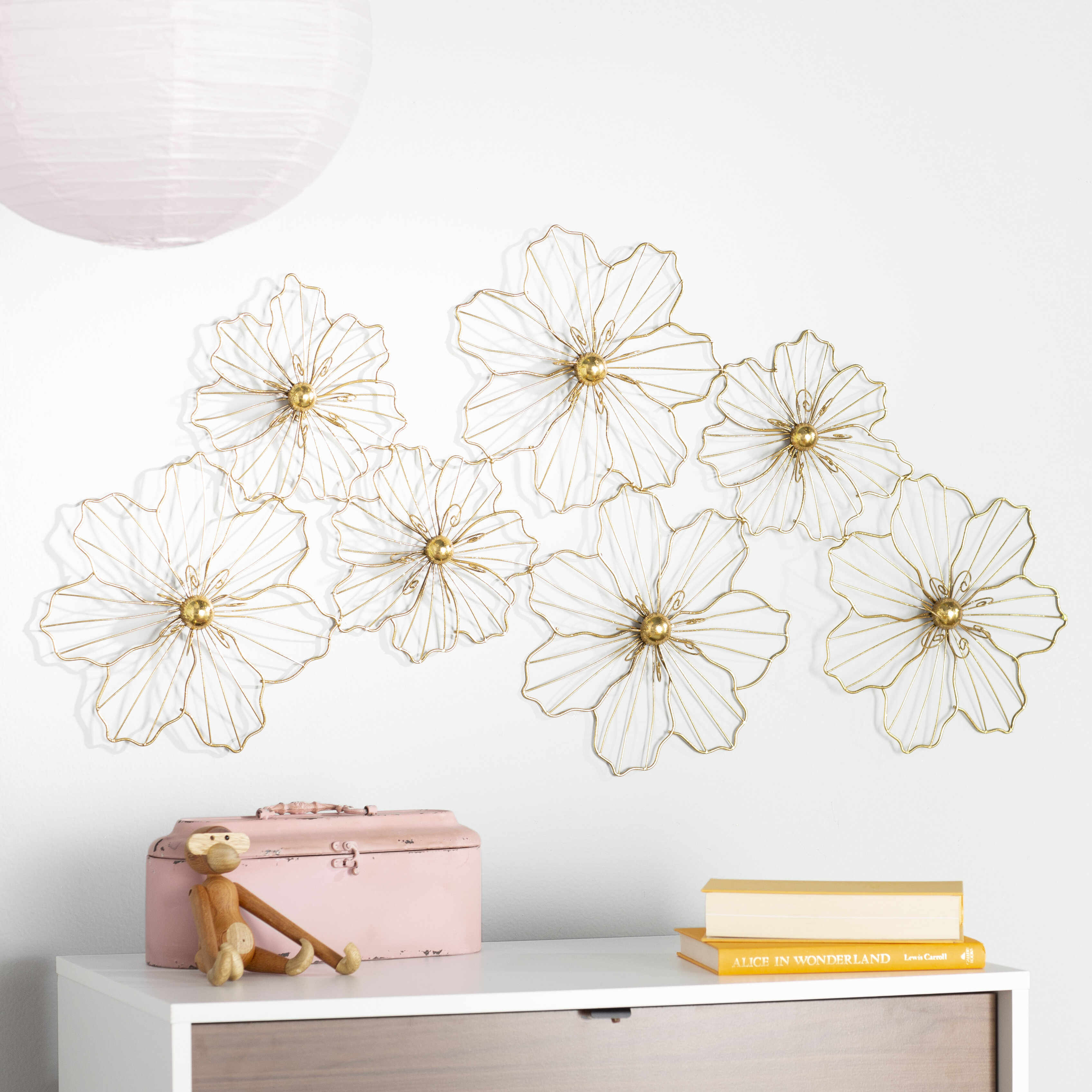 Metal Wall Décor for Metal Wall Decor by Cosmoliving (Image 24 of 30)