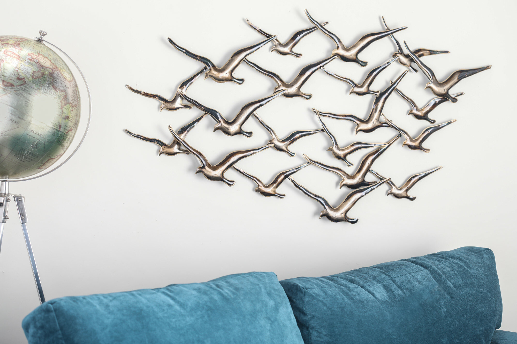 Metal Wall Décor throughout Desford Leaf Wall Decor (Image 25 of 30)