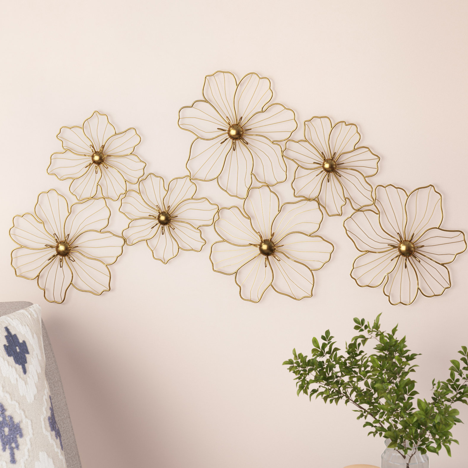 Metal Wall Décor throughout Metal Wall Decor By Cosmoliving (Image 25 of 30)