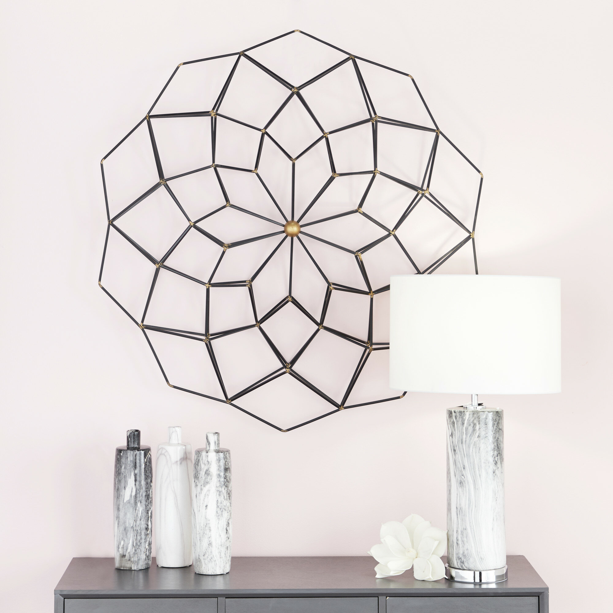 Metal Wall Décor with Metal Wall Decor by Cosmoliving (Image 26 of 30)