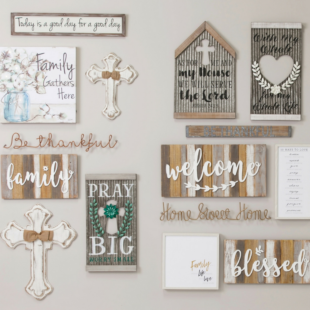 Metal Wall Décor | Wood Wall Décor | Myevergreen | Myevergreen With Regard To Choose Happiness 3D Cursive Metal Wall Decor (View 21 of 30)