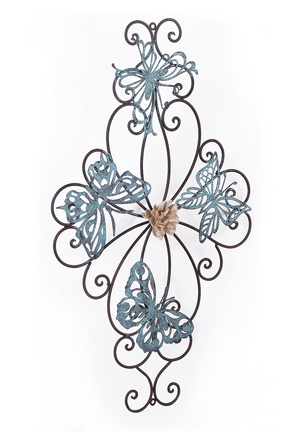 Metal Wall Flowers | Wayfair.ca regarding Flower Urban Design Metal Wall Decor (Image 22 of 30)