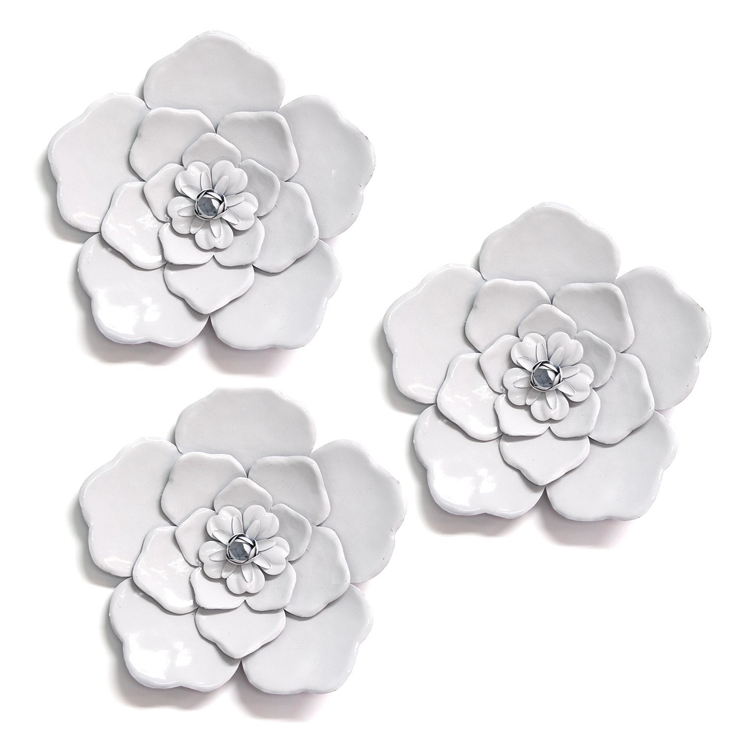 Metal Wall Flowers | Wayfair (View 20 of 30)