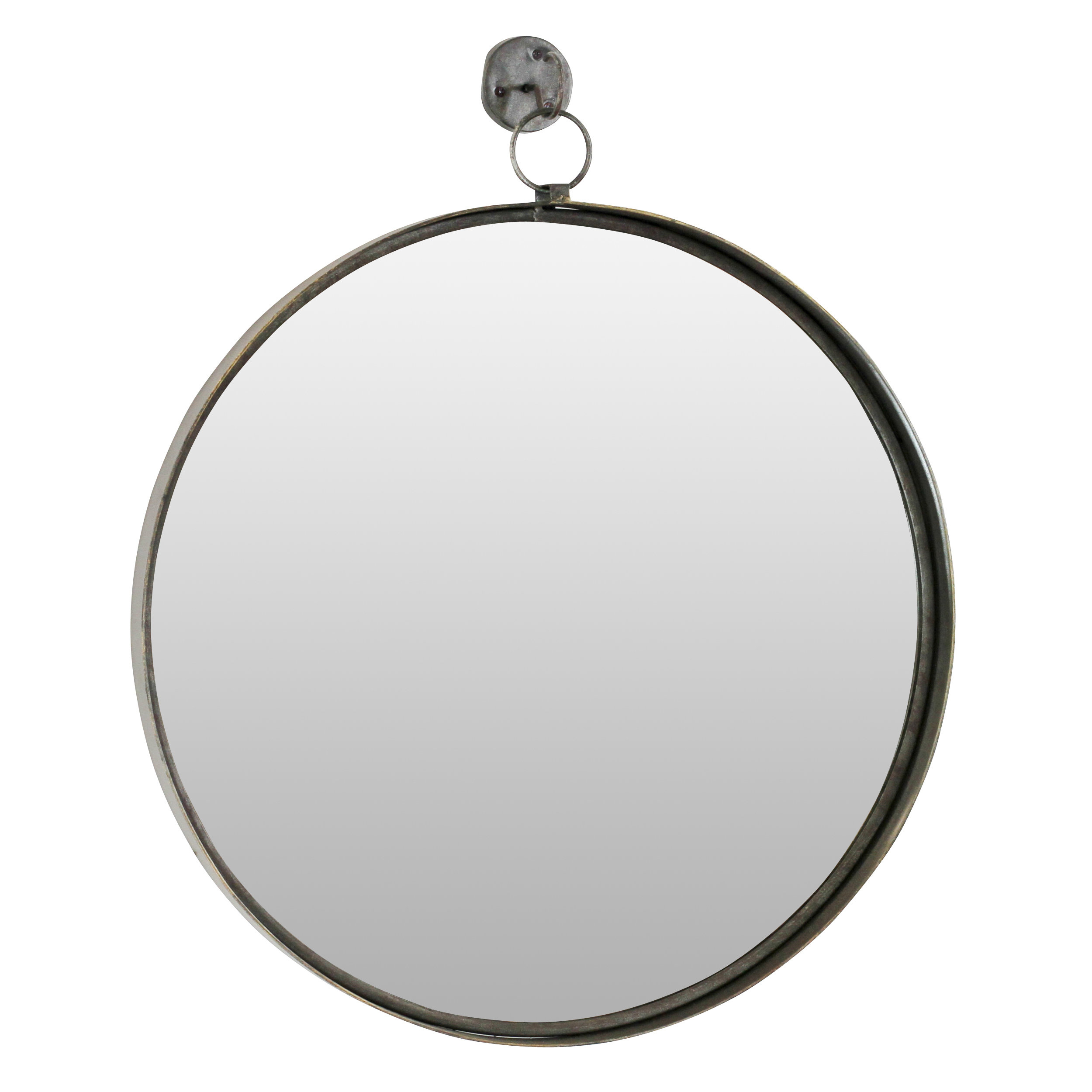 Metal Wall Mirrors You'll Love In 2019 | Wayfair inside Koeller Industrial Metal Wall Mirrors (Image 16 of 30)