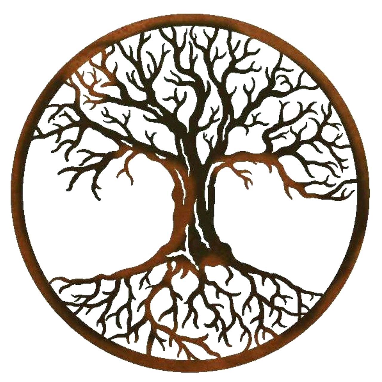 Metal Wall Tree Decor – Nenabigelow (View 11 of 30)