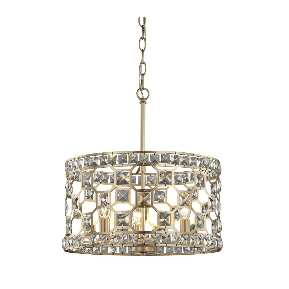 "Metropolitan N6775 293 Coronade 5 Light 22"" Wide Drum Pertaining To Hermione 5 Light Drum Chandeliers (View 10 of 30)"