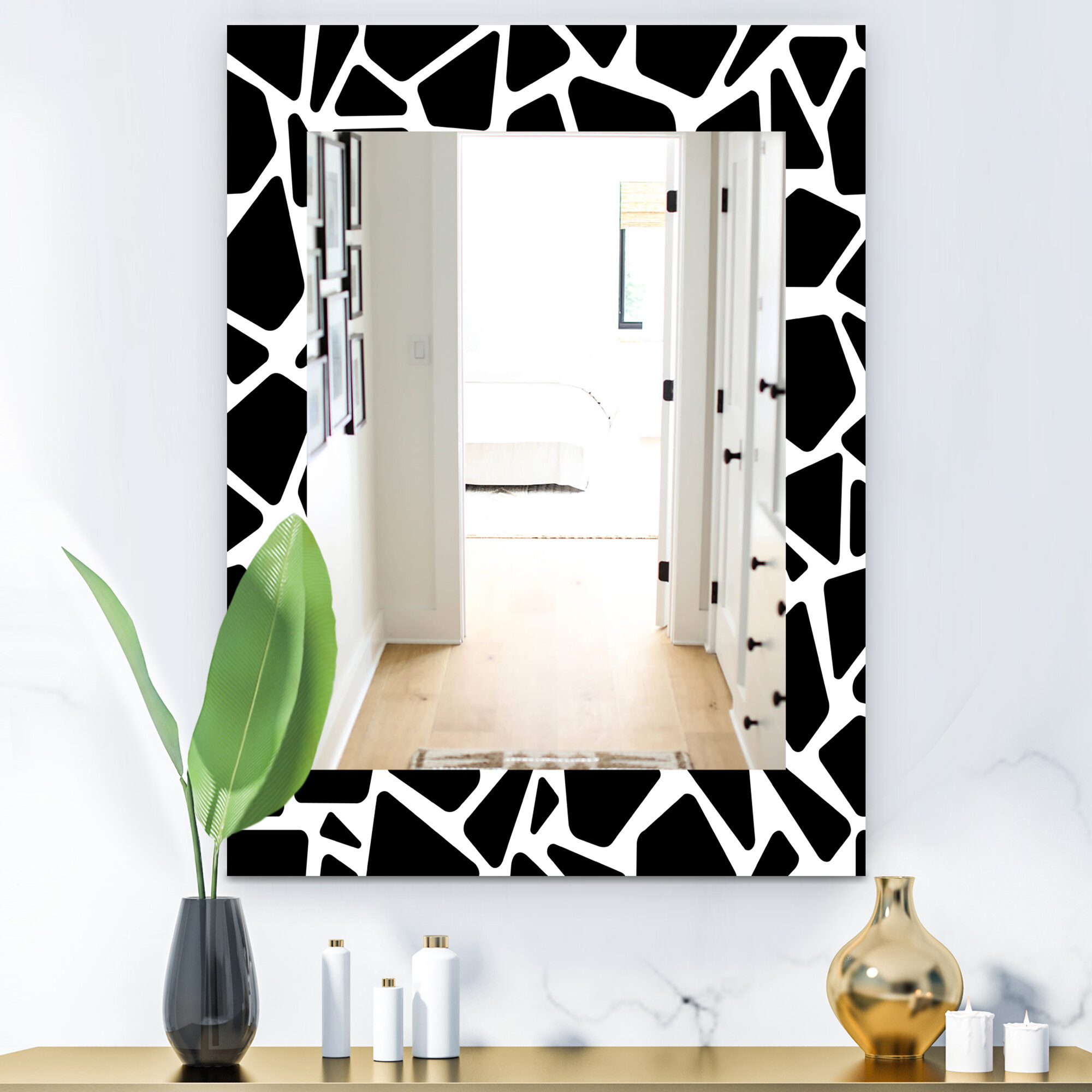 Mid Century Modern And Contemporary Wall Mirror Regarding Industrial Modern & Contemporary Wall Mirrors (View 18 of 30)
