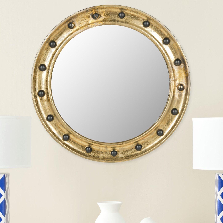 Milmont Accent Mirror With Regard To Tata Openwork Round Wall Mirrors (View 18 of 30)