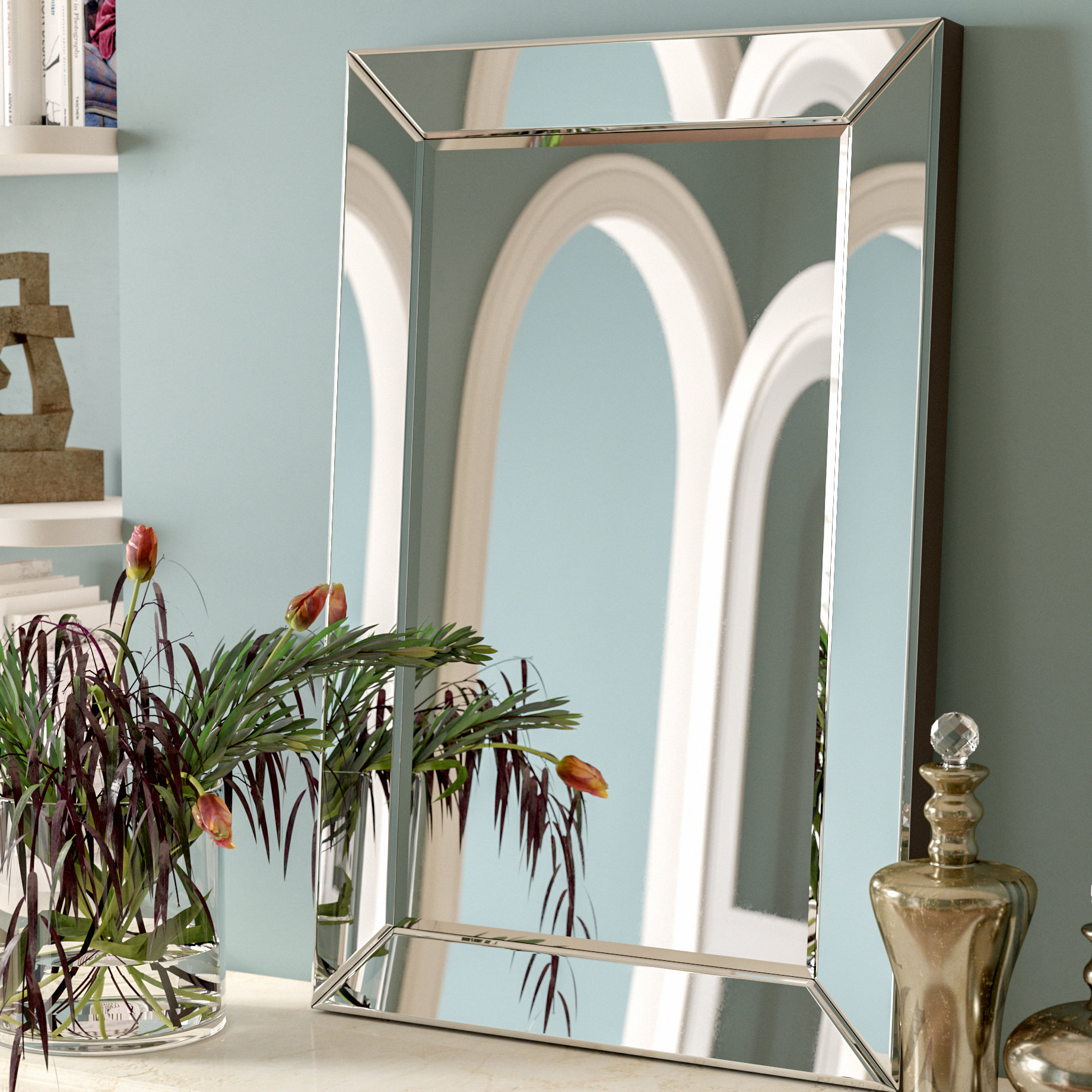 Minerva Accent Mirror | Wayfair with regard to Minerva Accent Mirrors (Image 22 of 30)