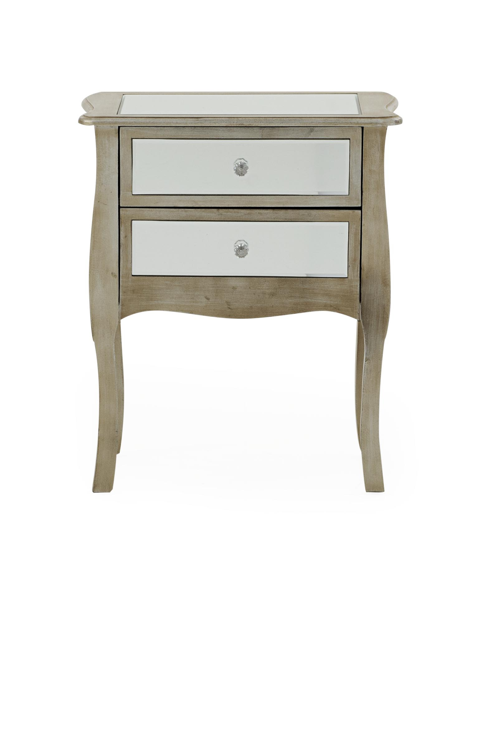 Mirror And Wood Accent Chest For Wood Accent Mirrors (View 18 of 30)