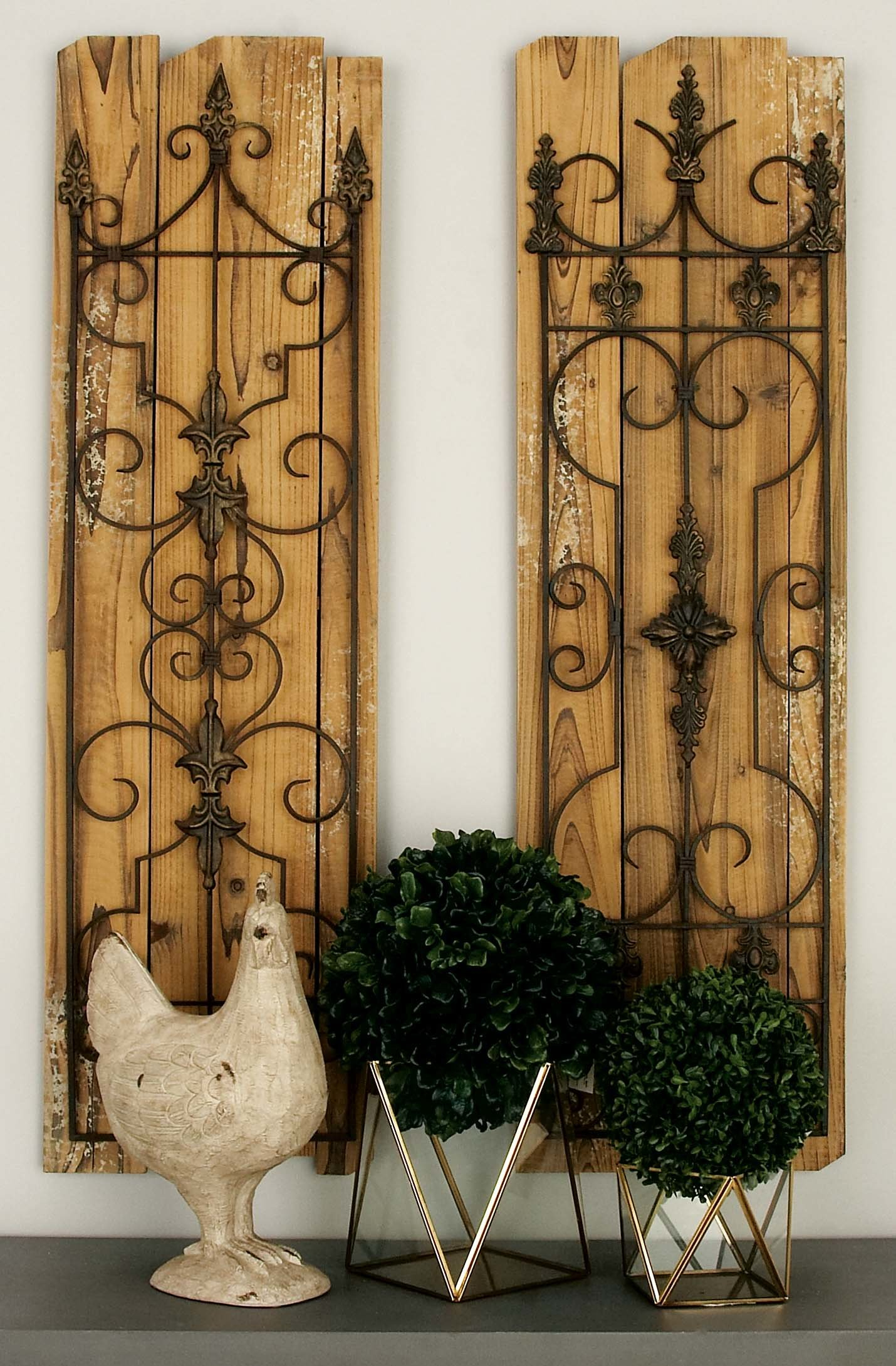 Mirror Wall Decor Set | Wayfair Intended For 2 Piece Panel Wood Wall Decor Sets (set Of 2) (View 19 of 30)