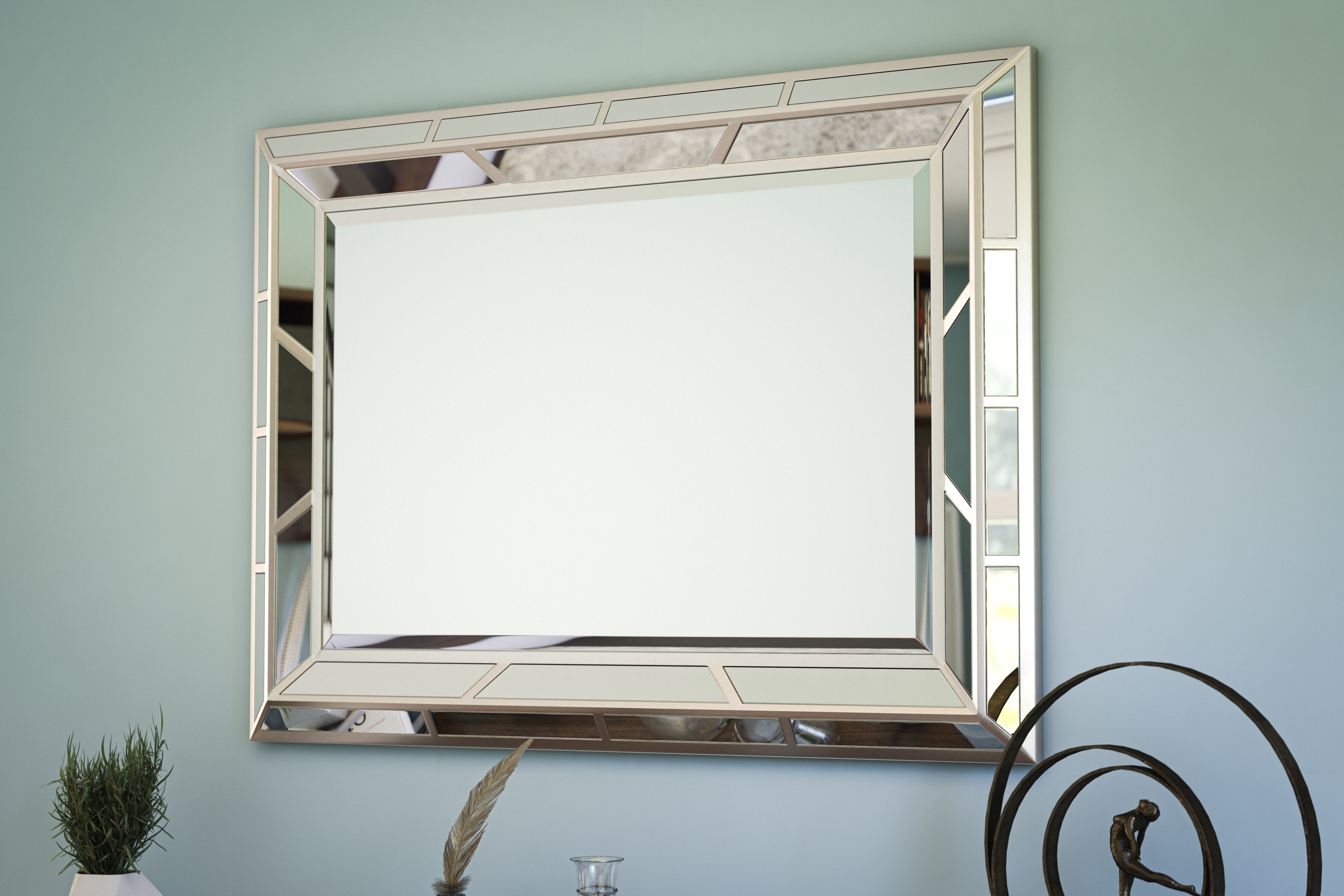 Mirrored Mirrors | Wayfair Inside Trigg Accent Mirrors (View 17 of 30)