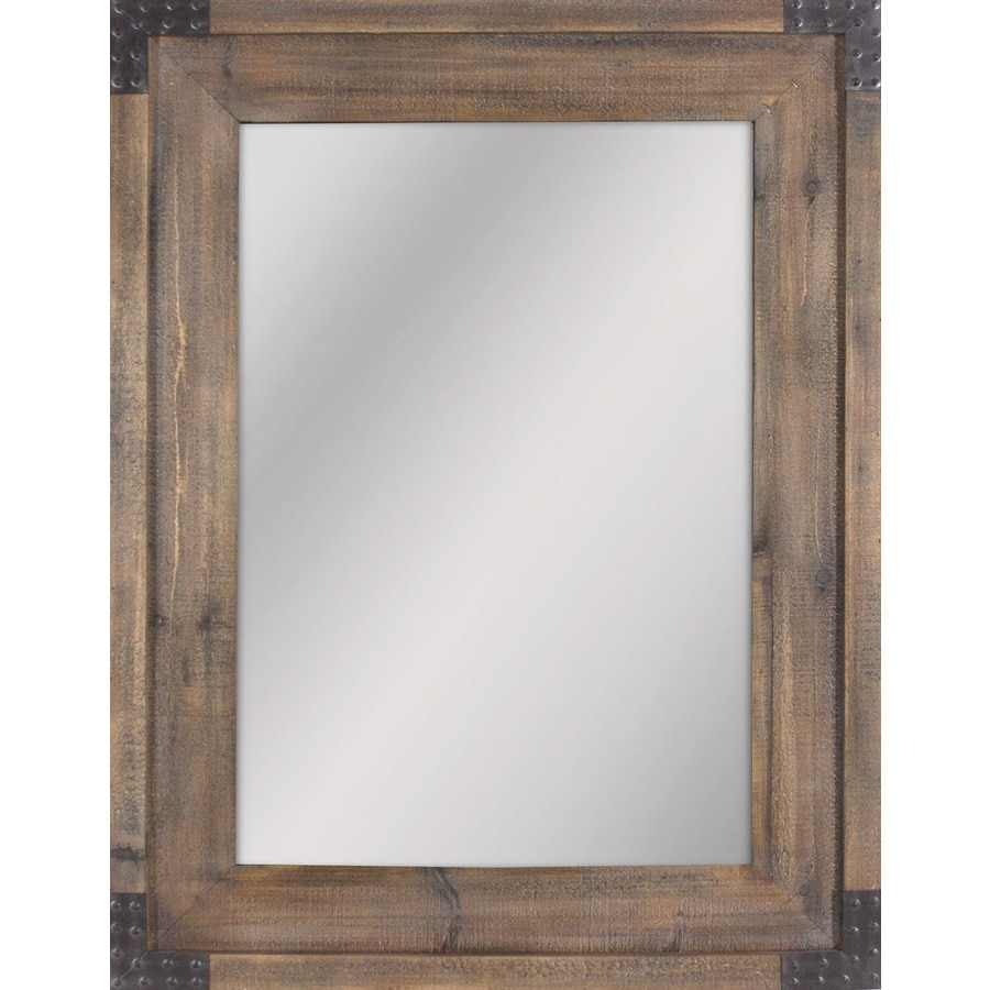 Mirrors & Mirror Accessories At Lowes In Traditional Square Glass Wall Mirrors (View 12 of 30)
