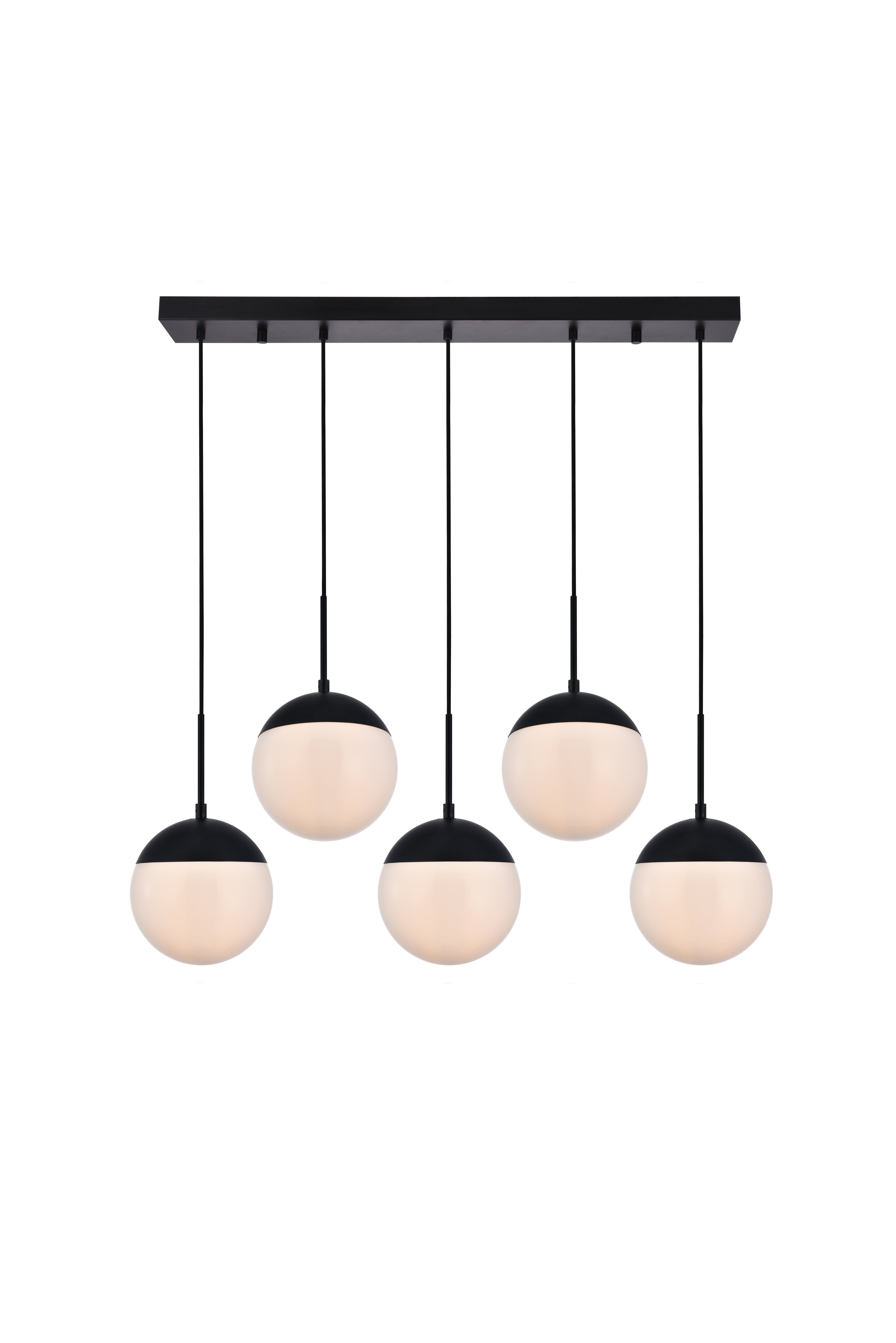 Modern Black Pendant Lighting | Allmodern For Bautista 6 Light Kitchen Island Bulb Pendants (View 23 of 30)