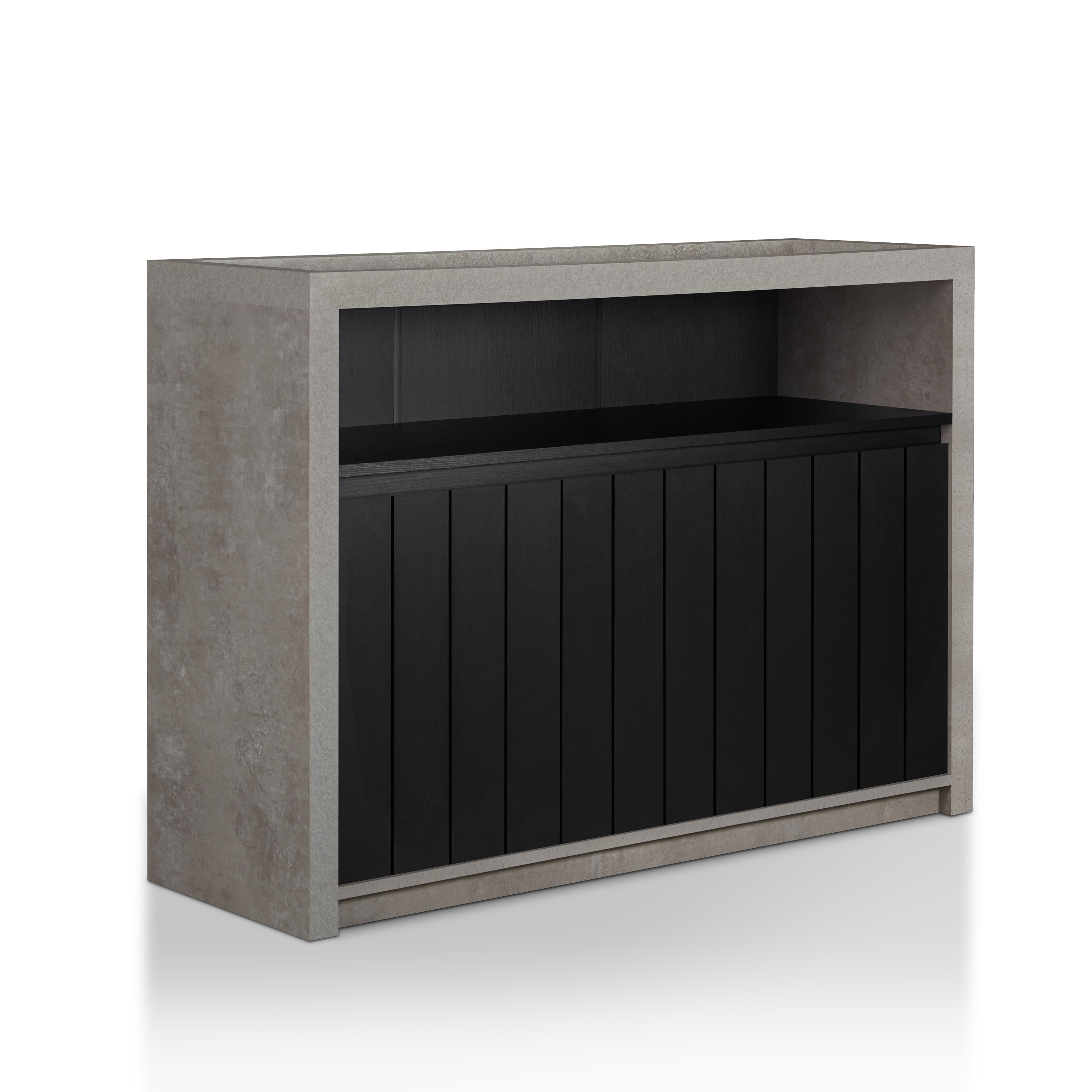 Modern Black Sideboards + Buffets | Allmodern in Rosson Sideboards (Image 15 of 30)