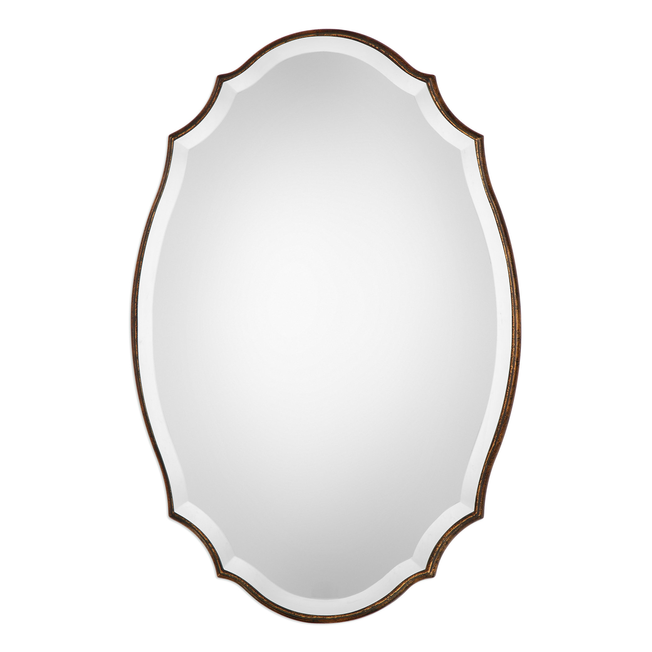 Modern & Contemporary Beveled Accent Mirror Intended For Guidinha Modern & Contemporary Accent Mirrors (View 4 of 30)