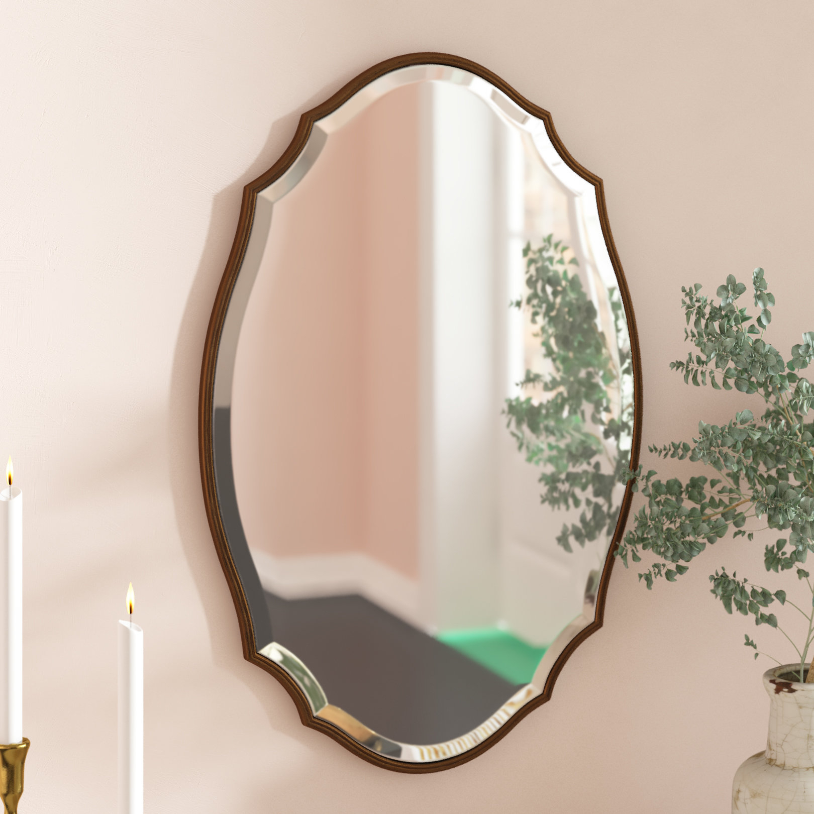 Modern & Contemporary Beveled Accent Mirror Regarding Menachem Modern & Contemporary Accent Mirrors (Image 19 of 30)