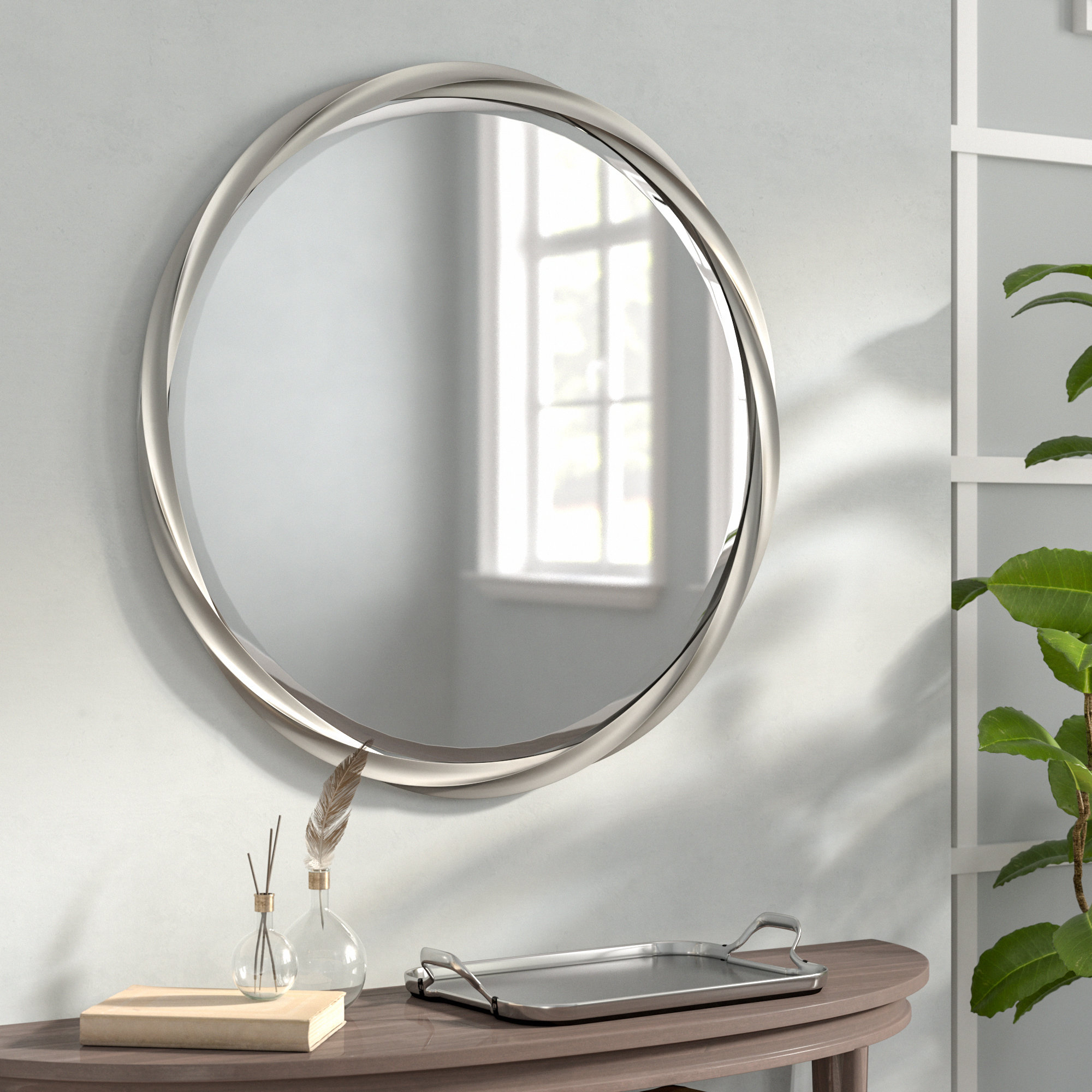 Modern & Contemporary Beveled Accent Mirror Within Modern & Contemporary Beveled Accent Mirrors (View 25 of 30)