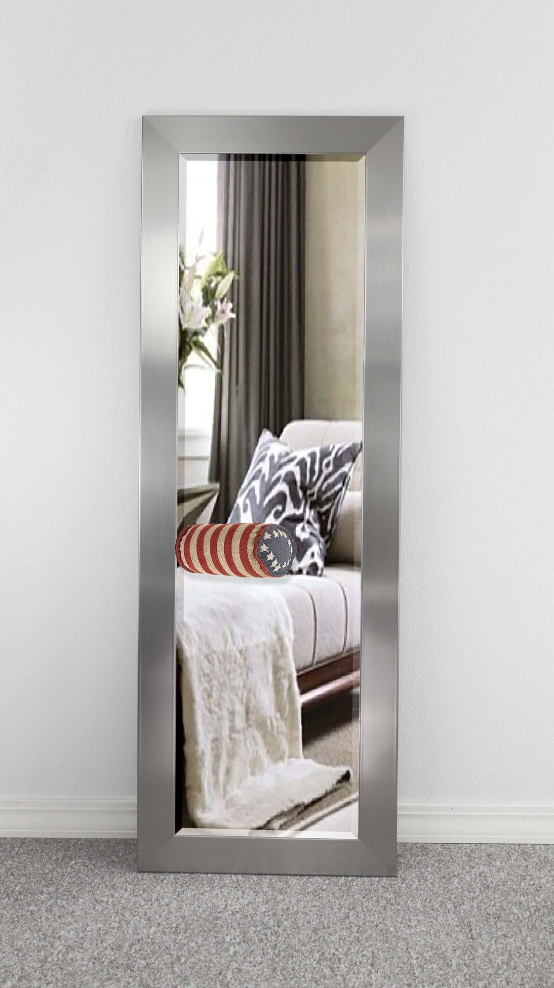 Modern & Contemporary Beveled Wall Mirror | Products in Modern & Contemporary Beveled Wall Mirrors (Image 24 of 30)
