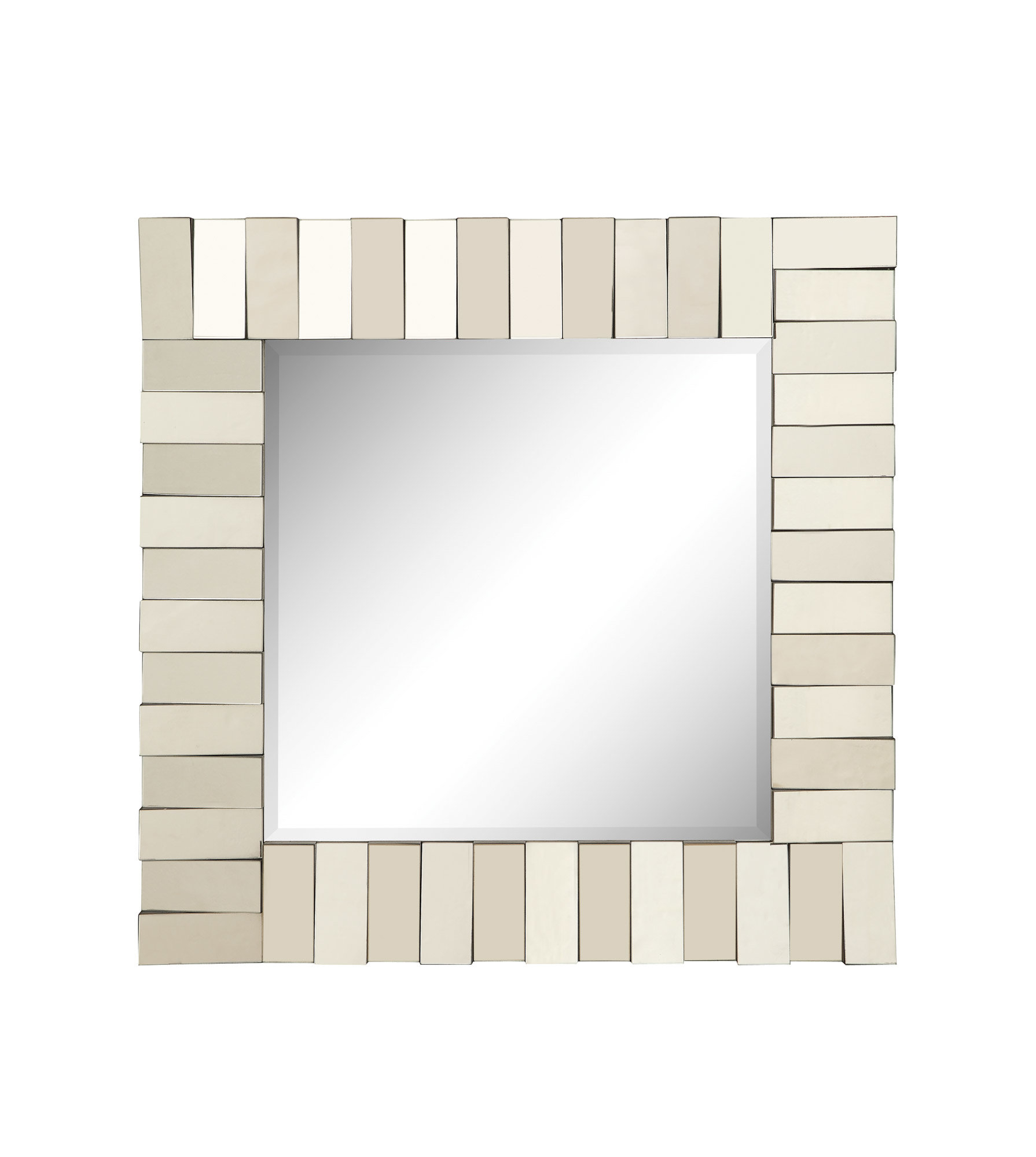 Modern & Contemporary Beveled Wall Mirror throughout Modern & Contemporary Beveled Wall Mirrors (Image 22 of 30)