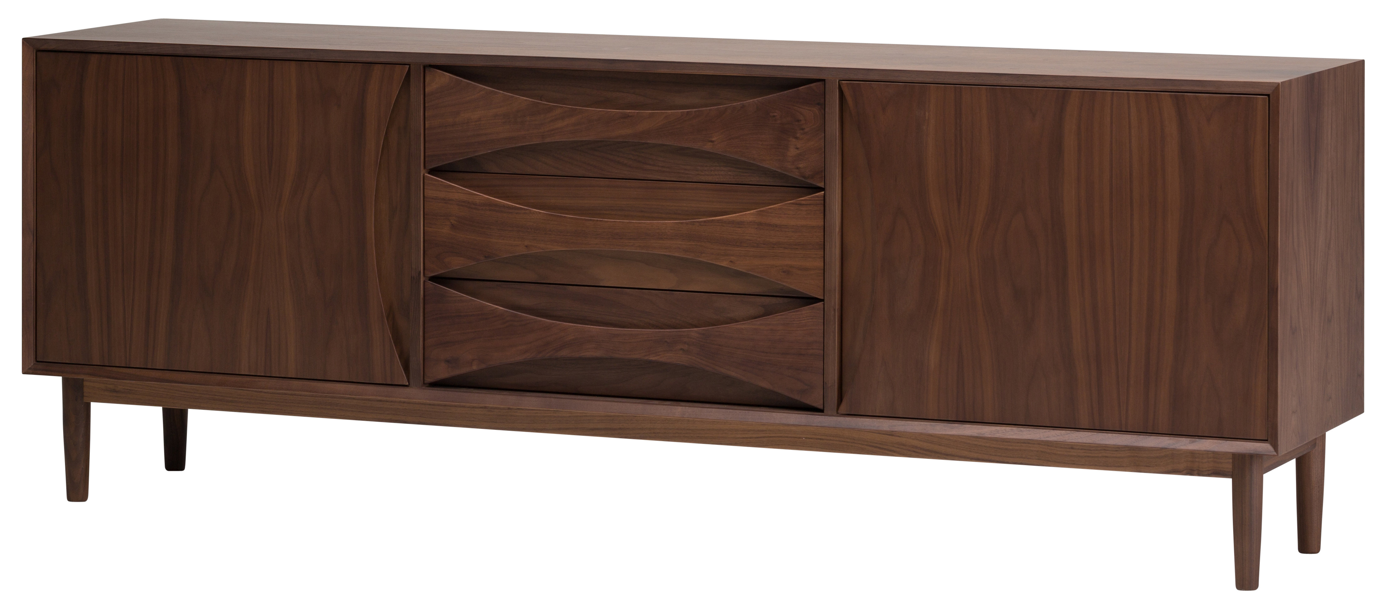 Modern & Contemporary Elyza 4 Door Credenza | Allmodern Regarding Elyza Credenzas (View 11 of 30)