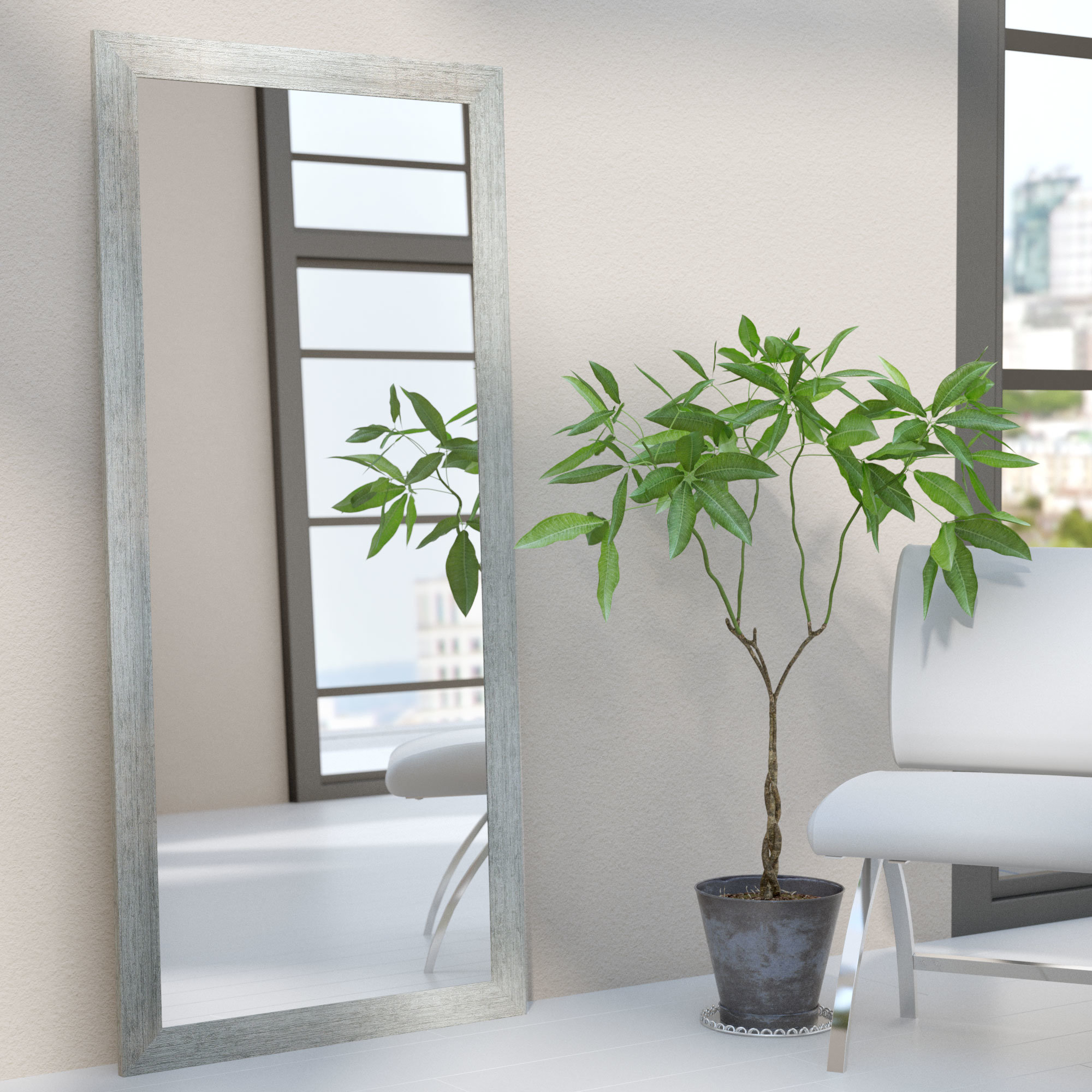 Modern & Contemporary Full Length Mirror For Jameson Modern & Contemporary Full Length Mirrors (View 9 of 30)