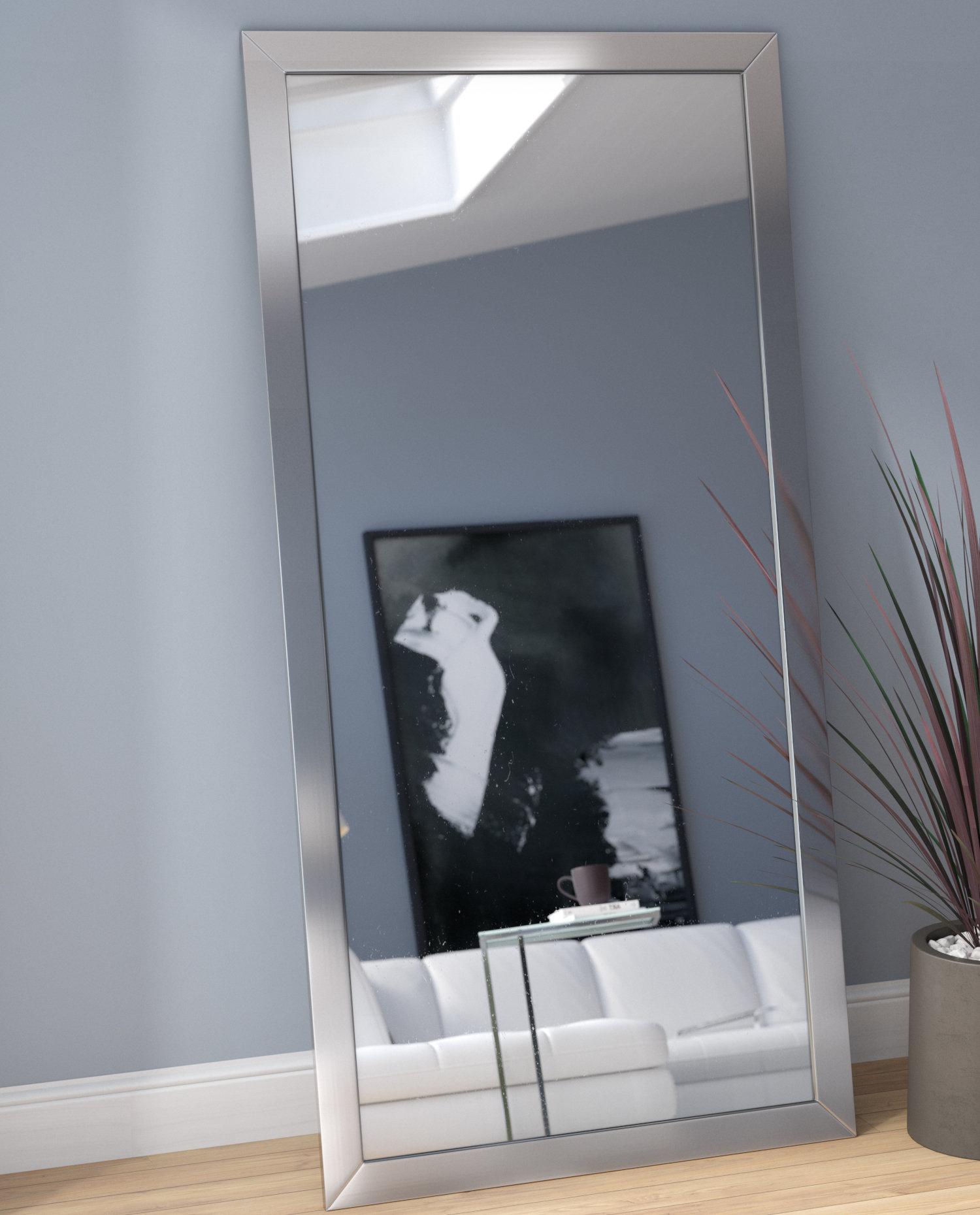 Modern & Contemporary Full Length Wall Mirror For Modern & Contemporary Full Length Mirrors (View 3 of 30)
