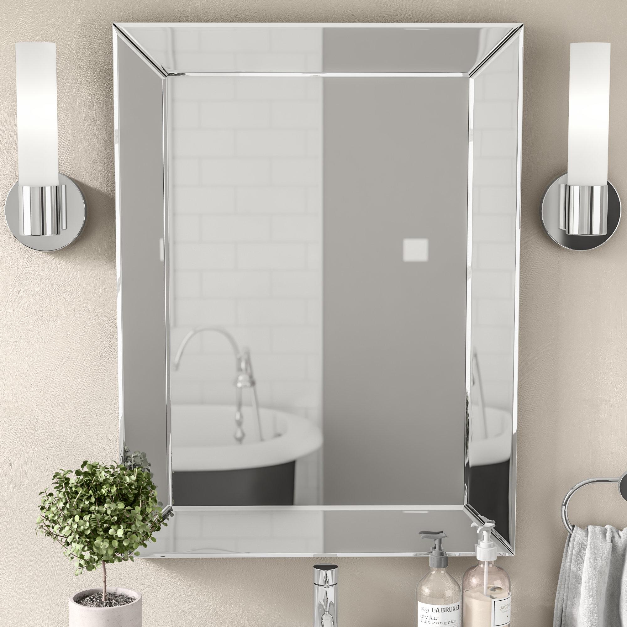 Modern & Contemporary Rattan Rectangular Mirror | Allmodern with regard to Pennsburg Rectangle Wall Mirrors (Image 13 of 30)