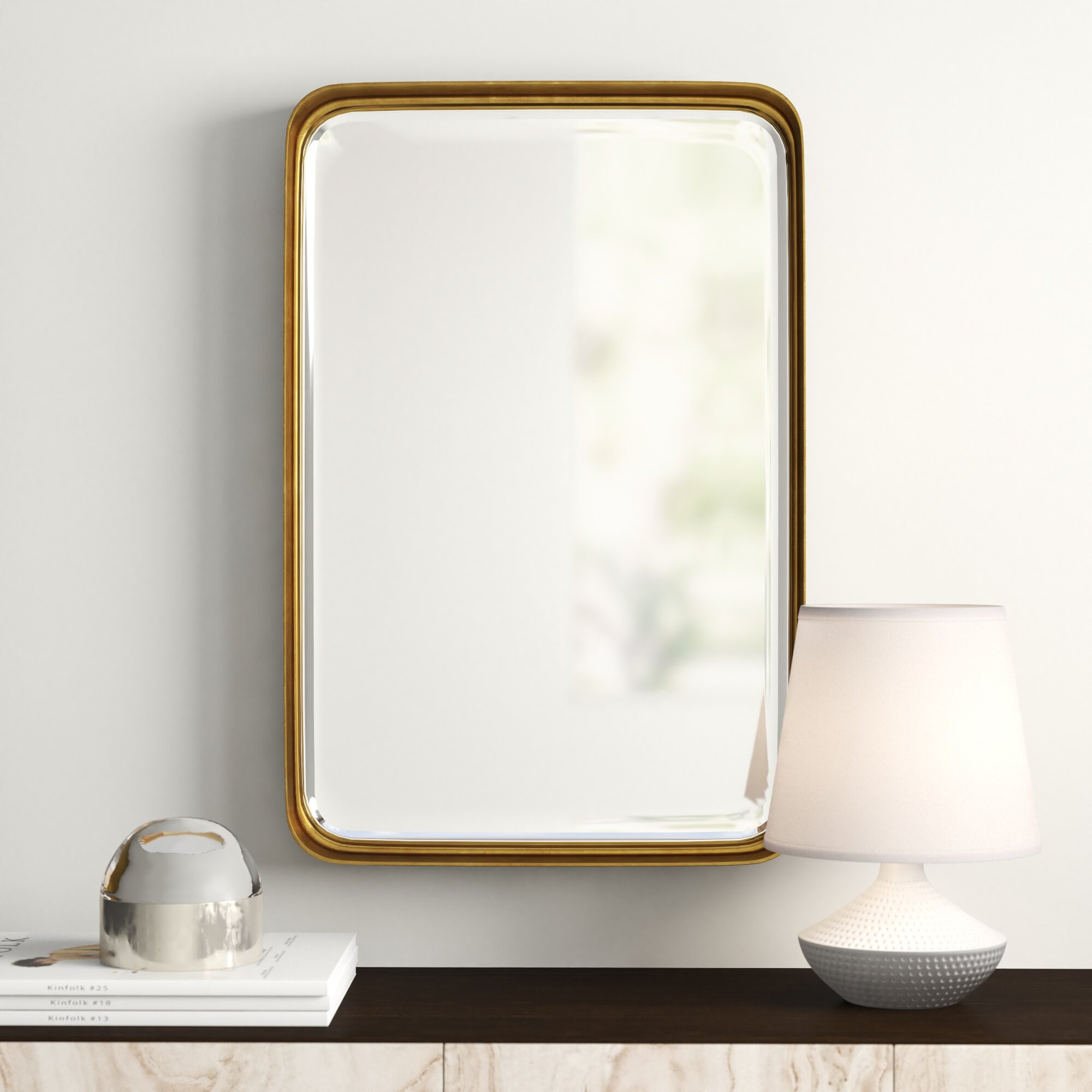 Modern & Contemporary Rectangle Pivot Mirror | Allmodern For Pennsburg Rectangle Wall Mirror By Wade Logan (View 13 of 30)