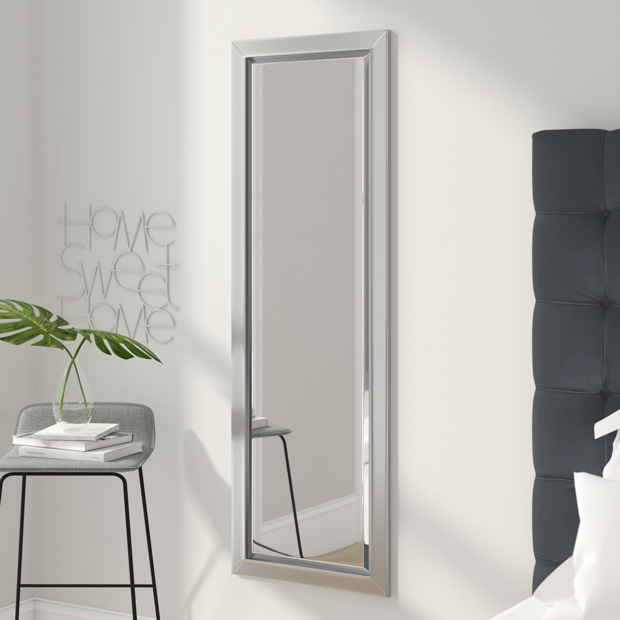 Modern Floor + Full Length Mirrors | Allmodern with Jameson Modern & Contemporary Full Length Mirrors (Image 24 of 30)