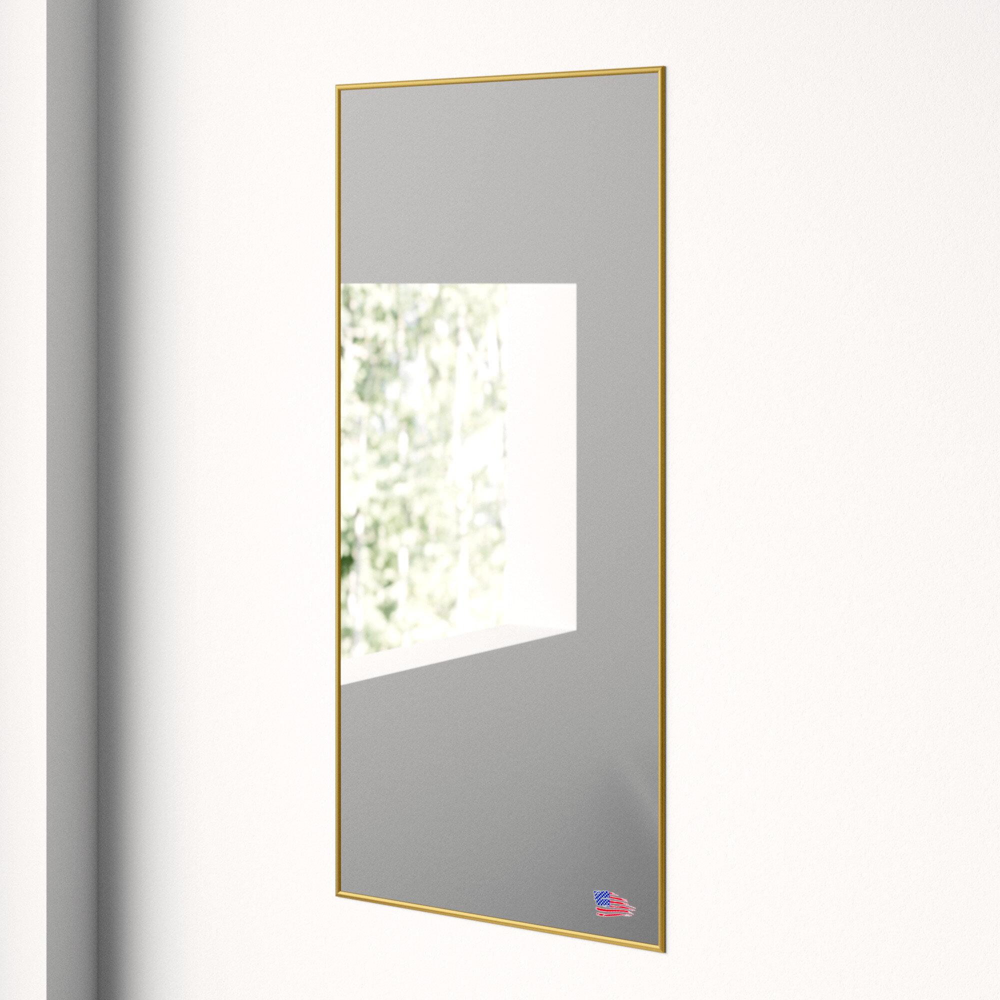 Modern Floor + Full Length Mirrors | Allmodern Within Industrial Full Length Mirrors (View 24 of 30)