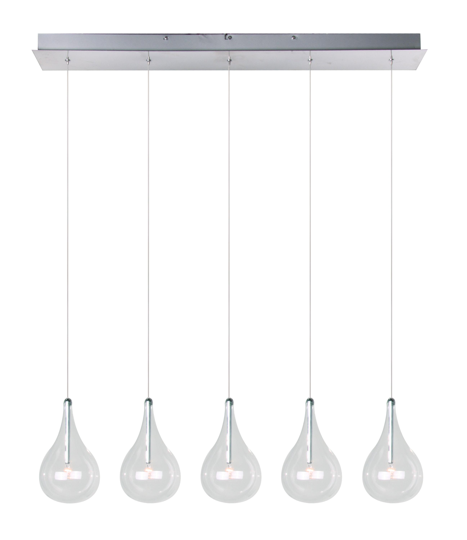 Modern Kitchen Island Pendants | Allmodern Inside Ariel 2 Light Kitchen Island Dome Pendants (Image 24 of 30)