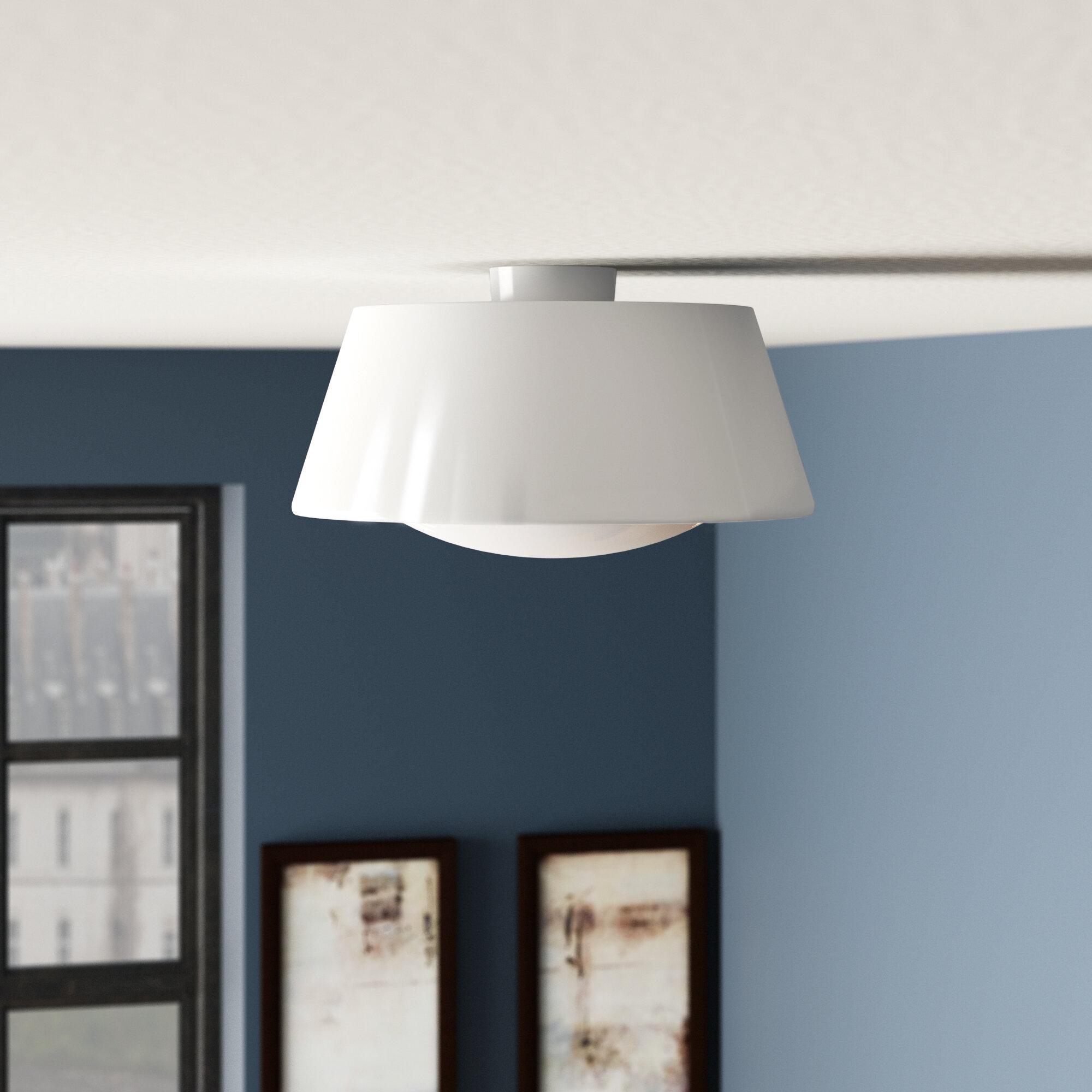 Modern Latitude Run Flush Mount Lighting   Allmodern intended for Whitten 4-Light Crystal Chandeliers (Image 21 of 30)